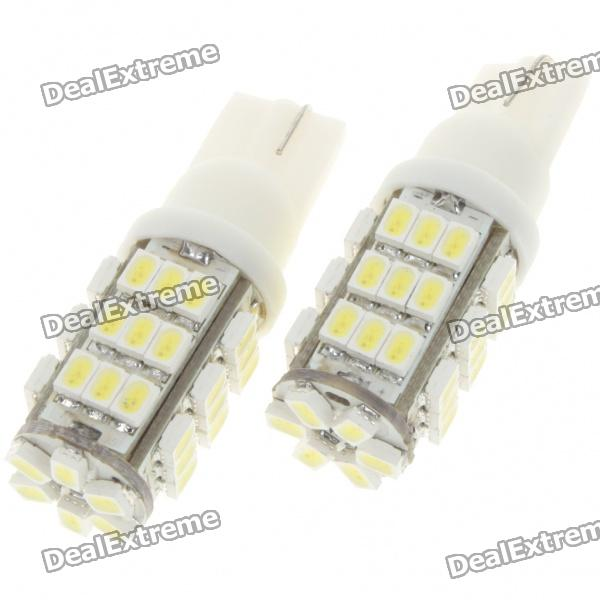 T10 1210 3W 135LM 42-LED White Light Car Turning Signal Light Bulbs (Pair)