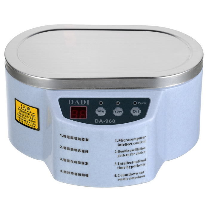 Professional Mini Ultrasonic Cleaner - White (220V)