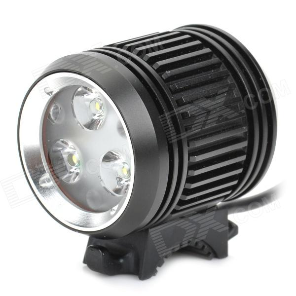 MagicShine MJ-870 vedenpitävä 4-tilassa 1200-Lumen LED Bike Light w / 3 CREE XP-G / Battery Pack Set