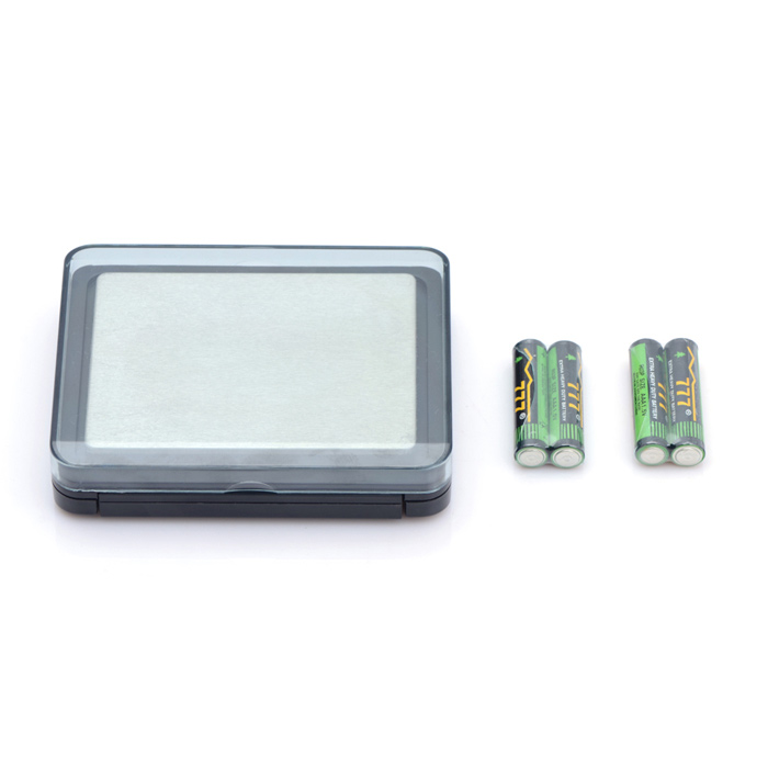 "Portable 1.5"" LCD Digital Pocket Scale (2000g Max / 4 x AAA)"