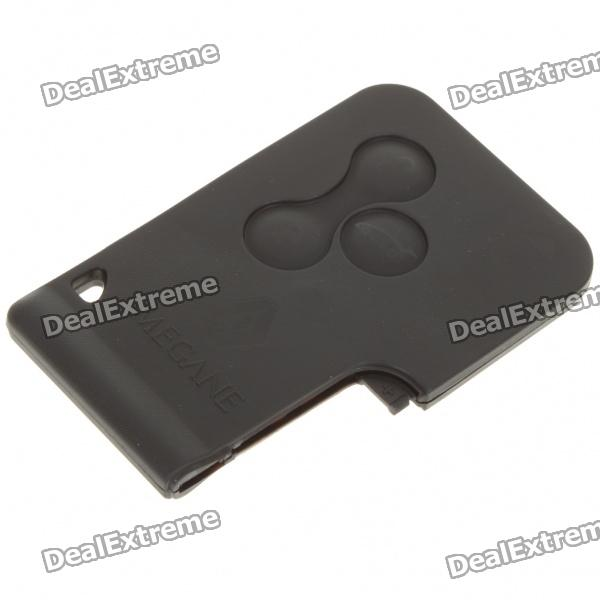 Replacement 3-Button Remote Controller Casing for Renault