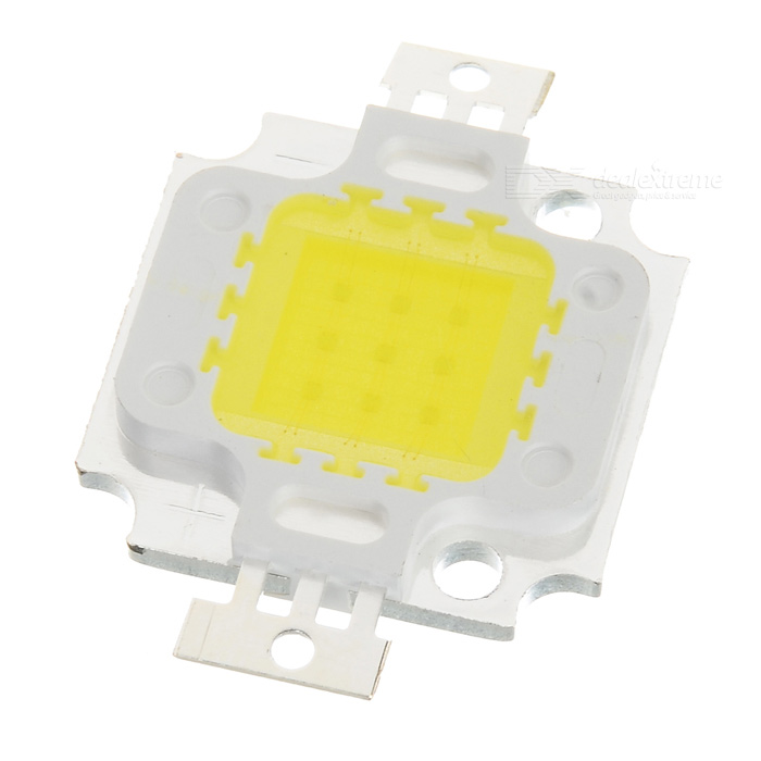 Buy 10W 750-Lumen 6500K Cold White Light LED Metal Plate Module (9~11V) with Litecoins with Free Shipping on Gipsybee.com