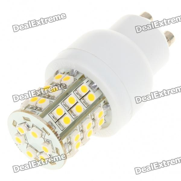 GU10 2.5W 3500K 190-Lumen 48x3528 SMD LED Warm White Light Bulb (AC 230V)