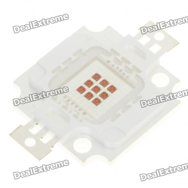 10W 250LM 625nm Red Light LED Metal Plate Module (6~8V)