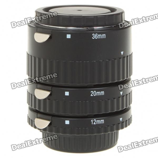 MEIKE MK-N-AF1-B Auto Focus Macro Extension Tube Set for Nikon DSLR