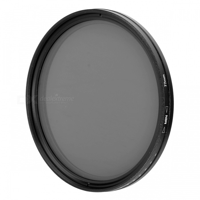 Neutral Density ND2-ND400 Fader ND Filter (77mm)