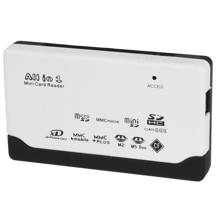 All-in-One USB 2.0 Card Reader with TF Slot