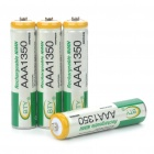 BTY Rechargeable 1.2V 1350mAh AAA Ni-MH Batteries (4PCS)