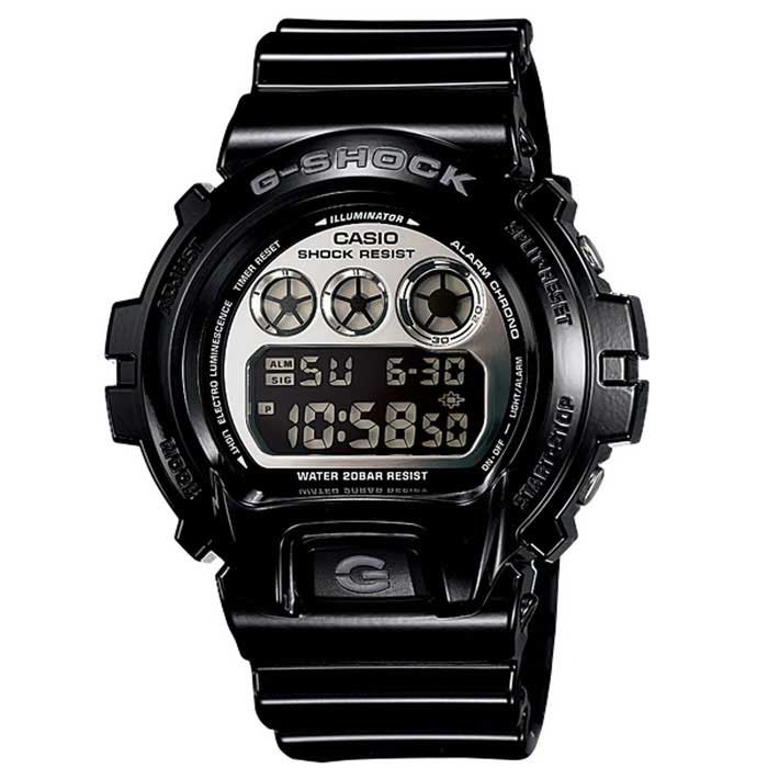 Casio G-Shock DW-6900NB-1 Mens Watch - BlackSport Watches<br>Form ColorBlackModelDW-6900NB-1Quantity1 DX.PCM.Model.AttributeModel.UnitShade Of ColorBlackCasing MaterialResinWristband MaterialResinSuitable forAdultsGenderUnisexStyleWrist WatchTypeSports watchesDisplayAnalog + DigitalMovementDigitalDisplay Format12/24 hour time formatWater ResistantOthers,200mDial Diameter50 DX.PCM.Model.AttributeModel.UnitDial Thickness16.3 DX.PCM.Model.AttributeModel.UnitWristband Length210 DX.PCM.Model.AttributeModel.UnitBand Width24.7 DX.PCM.Model.AttributeModel.UnitBattery2 years on CR2016Other FeaturesMineral Glass<br>Shock Resistant<br>200-meter water resistance<br>Case / bezel material: Resin<br>Resin BandPacking List1 * Main device1 * Guide<br>