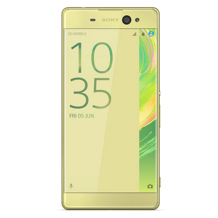 Sony Xperia XA Ultra F3216 16Gb ROM Dual SIM - Lime GoldAndroid Phones<br>Form ColorGoldenRAM3GBROM16GBBrandSONYModelF3216Quantity1 DX.PCM.Model.AttributeModel.UnitMaterialPlastic and metalShade Of ColorGoldPower AdapterOthers,Not specifyNetwork Type4GBand DetailsGSM850, GSM900, GSM1800, GSM1900, UMTS850 (B5), UMTS900 (B8), UMTS1900 (B2), UMTS2100 (B1), LTE2100 (B1), LTE850 (B5), LTE1800 (B3), LTE2600 (B7), LTE900 (B8), TD-LTE2600 (B38), TD-LTE2500 (B41), TD-LTE2300 (B40), TD-LTE1900 (B39), LTE700 (B28)Data TransferGPRS,HSDPA,EDGE,LTE,HSUPANetwork ConversationDual-Party ConversationsWLAN Wi-Fi 802.11 a,b,g,nSIM Card TypeNano SIMSIM Card Quantity2Network StandbyDual Network StandbyGPSYesNFCYesBluetooth VersionBluetooth V4.1Operating SystemAndroid 6.0CPU ProcessorMediaTek MT6755CPU Core QuantityOcta-CoreLanguageNot specifyAvailable Memory10.1GBSize Range5.5 inches &amp; OverTouch Screen TypeYesScreen Resolution1920*1080Screen Size ( inches)6.0Camera PixelOthers,21.5MPFront Camera Pixels16 DX.PCM.Model.AttributeModel.UnitVideo Recording Resolution1080p@30fpsFlashYesAuto FocusYesTalk Time11 DX.PCM.Model.AttributeModel.UnitStandby Time708 DX.PCM.Model.AttributeModel.UnitBattery Capacity2700 DX.PCM.Model.AttributeModel.UnitBattery ModeNon-removablefeaturesWi-Fi,GPS,FM,Bluetooth,NFCSensorProximity,Compass,AccelerometerWaterproof LevelIPX0 (Not Protected)I/O InterfaceMicro USB v2.0JAVANoRadio TunerFMReference Websites== Will this mobile phone work with a certain mobile carrier of yours? ==Packing List1 *  F3216 1 * Handset1 * Charger1 * Data Cable1 * Start-up Guide1 * Stereo Headphones<br>
