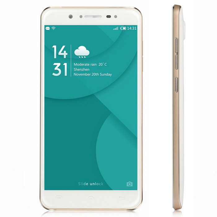DOOGEE F7 5.5 Android 6.0 4G Phone w/ 3GB RAM, 32GB ROM - WhiteAndroid Phones<br>Form  ColorWhiteRAM3GBROM32GBBrandDoogeeModelF7Quantity1 pieceMaterialPlastic + Aluminium alloyShade Of ColorWhiteTypeBrand NewPower AdapterEU PlugHousing Case MaterialPlastic + Aluminium alloyNetwork Type2G,3G,4GBand Details2G: GSM 850/900/1800/1900MHz; 3G: WCDMA 850/1900/2100MHz; 4G: FDD-LTE Band 1/3/7/20(B1:2100, B3:1800, B7:2600, B20:800MHz)Data TransferGPRS,HSDPA,EDGE,LTE,HSUPANetwork ConversationOne-Party Conversation OnlyWLAN Wi-Fi 802.11 b,g,nSIM Card TypeMicro SIMSIM Card Quantity2Network StandbyDual Network StandbyGPSYesNFCNoInfrared PortNoBluetooth VersionBluetooth V4.0Operating SystemAndroid 6.0CPU ProcessorMTK6797 1.8GHzCPU Core QuantityDeca-CoreGPUMali-T880LanguageAfrikaans / Indonesian / Malay / Catalan / Czech / Danish / German / English(United Kingdom) / English(United States) / Spanish(Espana) / Spanish(Estados Unidos) / Filipino / French / Croatian / Zulu / Italian / Swahili / Latviesu / Lithuanian / Hungarian / Dutch / Norsk bokmal / Polish / Portuguese(Brasil) / Portuguese(Portugal) / Romanian / Rumantsch / Slovak / Slovenscina / Finnish / Swedish / Vietnamese / Turkish / Russian / Greek / Hebrew / Arabic / Thai / Korean / Simplified Chinese / Traditional ChineseAvailable Memory24GBMemory CardYesMax. Expansion Supported32GBSize Range5.5 inches &amp; OverTouch Screen TypeCapacitive ScreenScreen Resolution1920*1080Multitouch5Screen Size ( inches)5.5Camera PixelOthers,13.0MP PDAF(SW 16.0MP)Front Camera Pixels5.0MP(SW 8.0MP) MPFlashYesAuto FocusYesTouch FocusYesTalk Time600 minutesStandby Time86 hoursBattery Capacity3400 mAhBattery ModeNon-removableQuick ChargeYesfeaturesWi-Fi,GPS,FM,BluetoothSensorG-sensor,Proximity,Gesture,Others,Light sensorWaterproof LevelIPX0 (Not Protected)I/O Interface3.5mm,USB Type-cSoftwarePlay Store, E-mail, Gmail, Calculator, File manager, Clock, Calendar, Gallery, Video Player, Music, Sound Recorder, FM Radio, etc.Format SupportedAVI / MP4 /