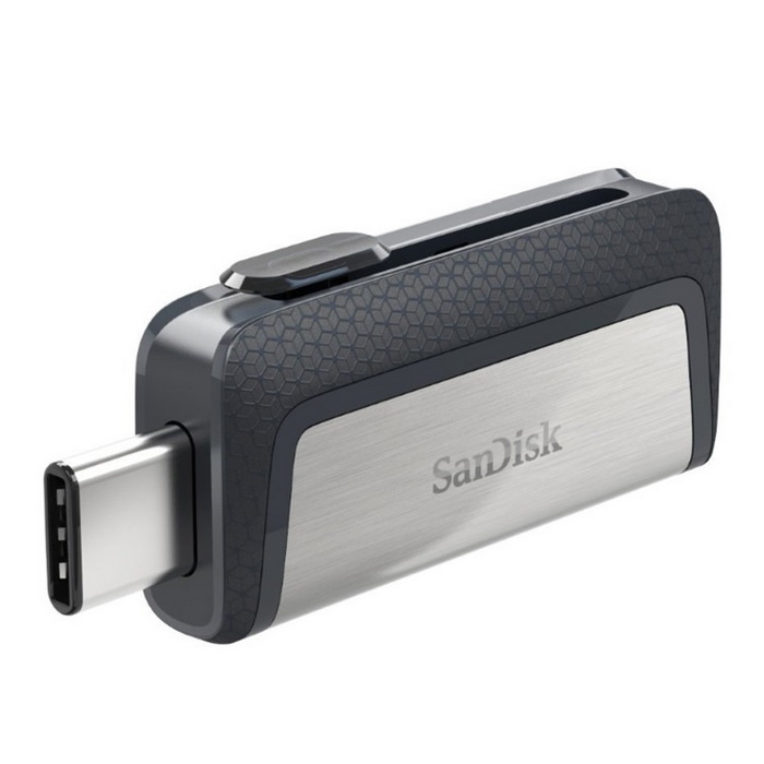 SanDisk Ultra 128GB Dual Drive USB Type-C (SDDDC2-128G)?128GB USB Flash Drives<br>Form  ColorSilverCapacity128GBModelSDDDC2-128GMaterialMetal + plasticQuantity1 DX.PCM.Model.AttributeModel.UnitShade Of ColorSilverMax Read Speed150 MB/sMax Write Speed50MB/sUSBUSB 3.0With IndicatorNoPacking List 1 * USB Type-C and USB Type-A connector<br>
