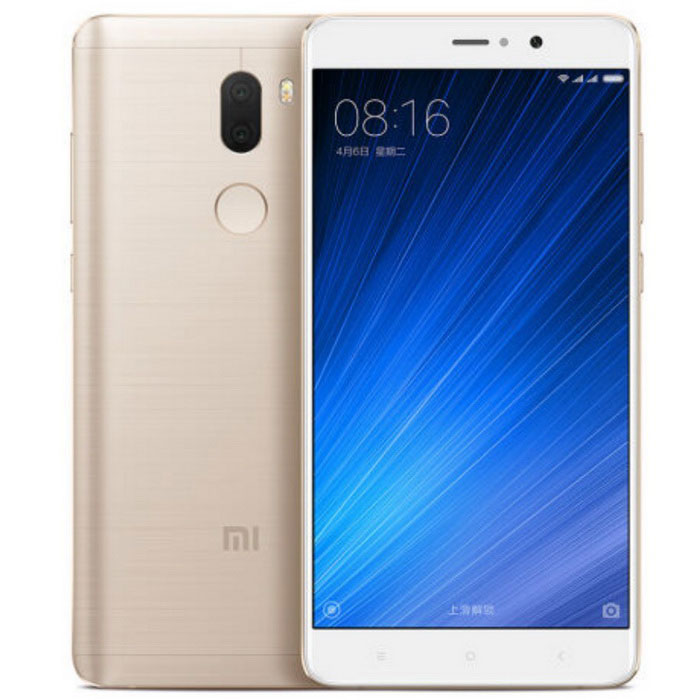 Xiaomi Mi 5s Plus Dual SIM 6GB RAM 128GB ROM  - GoldenAndroid Phones<br>Form  ColorGoldenRAM6GBROM128GBBrandXiaomiModel5s PlusQuantity1 setMaterialPlastic + MetalShade Of ColorGoldTypeBrand NewPower AdapterUSBHousing Case MaterialMetalNetwork Type2G,3G,4GBand DetailsGSM850, GSM900, GSM1800, GSM1900, CDMA800 (BC0), UMTS850 (B5), UMTS900 (B8), UMTS1900 (B2), UMTS2100 (B1), LTE2100 (B1), TD-SCDMA2000, LTE850 (B5), TD-SCDMA1900, LTE1800 (B3), LTE2600 (B7), TD-LTE2600 (B38), TD-LTE2500 (B41), TD-LTE2300 (B40), TD-LTE1900 (B39)Data TransferGPRS,HSDPA,EDGE,LTE,HSUPANetwork ConversationOne-Party Conversation OnlyWLAN Wi-Fi 802.11 a,b,g,n,acSIM Card TypeNano SIMSIM Card Quantity2Network StandbyDual Network StandbyGPSYesNFCYesInfrared PortNoBluetooth VersionBluetooth V4.2Operating SystemAndroid 6.0CPU ProcessorQualcomm Snapdragon 821 2350 MHzCPU Core QuantityQuad-CoreLanguageEnglish, Afrikaans, Bahasa Indonesia, Bahasa Melayu, Catala, Cestina,Dansk, Deutsch,<br> Espanol, Filipino, French, Hrvatski, IsiZulu, Italiano, Kiswahili,Latviesu, Lietuviu, <br>Magyar, Nederlands, Norsk bokmal, Portuguese, Romana,Rumantsch, Slovencina, Slovenscina, <br>Suomi, Svenska, Vietnamese, Turkish,Greek, Bulgarian, Russian, Serbian, Ukrainian, Hebrew, Urdu, <br>Arabic, Persian, Thai, Khmer, Korean, Japanese, Simplified/Traditional ChineseAvailable Memory121GBSize Range5.5 inches &amp; OverTouch Screen TypeTFTScreen Resolution1920*1080Multitouch5Screen Size ( inches)5.7Screen Edge2.5D Curved EdgeCamera Pixel13.0MPFront Camera Pixels4.1 MPVideo Recording Resolution2160p@30fpsFlashYesTalk Time10 hoursStandby Time140 hoursBattery Capacity3800 mAhfeaturesWi-Fi,GPS,FM,Bluetooth,NFCSensorG-sensor,Proximity,Compass,Accelerometer,Fingerprint authentication sensorWaterproof LevelIPX0 (Not Protected)I/O Interface3.5mm,USB Type-cTV TunerNoReference Websites== Will this mobile phone work with a certain mobile carrier of yours? ==Packing List1 x 5s Plus1 x USB cable1 x USB charger<br>