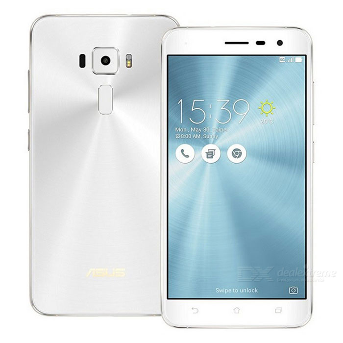 Asus Zenfone 3 ZE552KL 4GB RAM 64GB ROM Dual SIM - WhiteAndroid Phones<br>Form ColorWhiteRAM4GBROM64GBNetwork ConversationDual-Party ConversationsBrandASUSModelZE552KLQuantity1 DX.PCM.Model.AttributeModel.UnitMaterialPlastic + MetalShade Of ColorWhiteTypeBrand NewPower AdapterUSBNetwork Type2G,3G,4GBand Details2G : 850/900/1800/1900 3G: WCDMA Band: 1/2/5/6/8/19 4G: FDD-LTE Band: 1/2/3/5/7/8/18/19/26/28 TDD-LTE Band: 38/39/40/41Data TransferGPRS,HSDPA,EDGE,LTE,HSUPAWLAN Wi-Fi 802.11 a,b,g,n,acSIM Card TypeMicro SIM,Nano SIMSIM Card Quantity2Network StandbyDual Network StandbyGPSYesBluetooth VersionBluetooth V4.2Operating SystemAndroid 6.0CPU Processor64-bit Qualcomm® Octa-Core ProcessorSnapdragon 625 @2.0GhzCPU Core QuantityOcta-CoreGPUAdreno 506LanguageEnglish, Afrikaans, Bahasa Indonesia, Bahasa Melayu, Catala, Cestina,Dansk, Deutsch,<br> Espanol, Filipino, French, Hrvatski, IsiZulu, Italiano, Kiswahili,Latviesu, Lietuviu, <br>Magyar, Nederlands, Norsk bokmal, Portuguese, Romana,Rumantsch, Slovencina, Slovenscina, <br>Suomi, Svenska, Vietnamese, Turkish,Greek, Bulgarian, Russian, Serbian, Ukrainian, Hebrew, Urdu, <br>Arabic, Persian, Thai, Khmer, Korean, Japanese, Simplified/Traditional ChineseAvailable Memory58.9GBMemory CardMicro SDMax. Expansion Supported2TBSize Range5.5 inches &amp; OverTouch Screen TypeIPSScreen Resolution1920*1080Multitouch5Screen Size ( inches)5.5Camera PixelOthers,16MPFront Camera Pixels8 DX.PCM.Model.AttributeModel.UnitFlashYesTalk Time4 DX.PCM.Model.AttributeModel.UnitStandby Time125 DX.PCM.Model.AttributeModel.UnitBattery Capacity3000 DX.PCM.Model.AttributeModel.UnitBattery ModeNon-removablefeaturesWi-Fi,GPS,FM,Bluetooth,NFC,OTGSensorProximity,Compass,Accelerometer,Fingerprint authentication sensorWaterproof LevelIPX0 (Not Protected)I/O Interface3.5mm,USB Type-cTV TunerNoRadio TunerFMReference Websites== Will this mobile phone work with a certain mobile carrier of yours? ==Packing List1 * Asus Zenfone 3 ZE552KL Phone1 * USB1 * Charger 1 