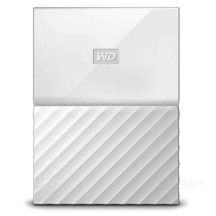 WD My Passport 2TB 2.5 External Drive USB3.0 WDBYFT0020BWT - WhiteHDD &amp; SSD<br>Form Color2TB WhiteModelWDBYFT0020BWTQuantity1 DX.PCM.Model.AttributeModel.UnitMaterialMetal + plasticInterfaceUSB 3.0Capacity / ROM2TBForm Factor2.5Max Sequential Read125.5MB/sMax Sequential Write113.7MB/sPacking List1 * WDBYFT0020BWT1 * USB 3.0 cable1 * User manual<br>