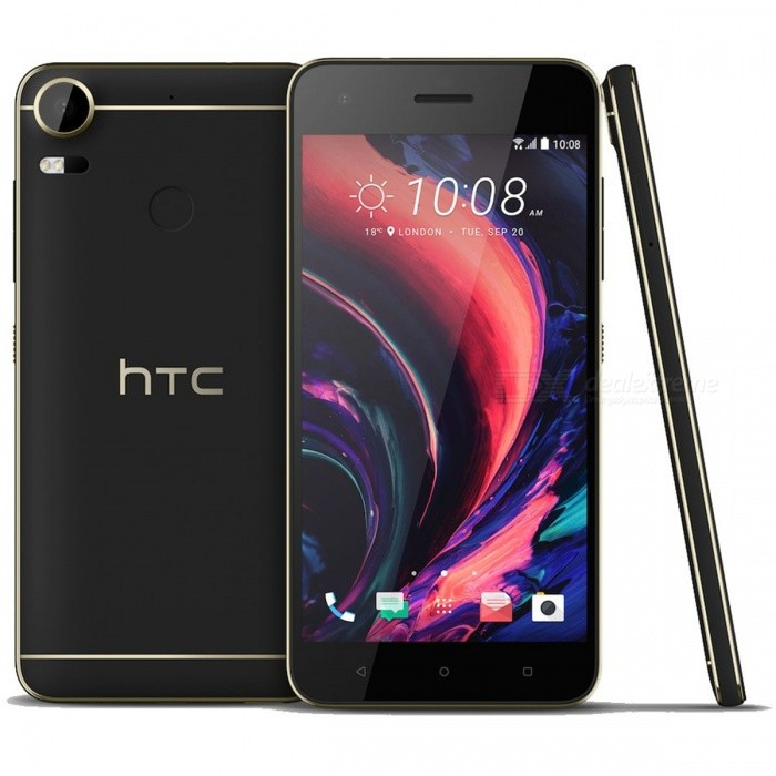 HTC Desire 10 Pro Phone w/ 4GB RAM 64GB ROM Dual SIM - BlackAndroid Phones<br>Form ColorBlackRAM4GBROM64GBBrandHTCModelDesire 10 ProQuantity1 DX.PCM.Model.AttributeModel.UnitMaterialAluminum alloyShade Of ColorBlackTypeBrand NewPower AdapterUK PlugNetwork Type2G,3G,4GBand Details-Data TransferGPRS,HSDPA,EDGE,LTE,HSUPAWLAN Wi-Fi 802.11 a,b,g,n,Others,Wi-Fi Direct, Wi-Fi Tethering, DLNA, MiracastSIM Card TypeNano SIMSIM Card Quantity2Network StandbyDual Network StandbyGPSYesNFCYesBluetooth VersionBluetooth V4.0,Bluetooth V4.2Operating SystemAndroid 6.0CPU ProcessorMediaTek MT6755 (Helio P10), 2015, 64 bit, 2000MHzCPU Core QuantityOcta-CoreGPUARM Mali-T860Language-Available Memory-Memory CardMicro SDMax. Expansion Supported256GBSize Range5.5 inches &amp; OverTouch Screen TypeCapacitive ScreenScreen Resolution1920*1080MultitouchOthers,3 pointScreen Size ( inches)5.5Camera PixelOthers,20MPFront Camera Pixels12 DX.PCM.Model.AttributeModel.UnitVideo Recording Resolution1920 * 1080 pixel<br>30 fpsFlashYesAuto FocusLaser auto focusTouch FocusYesOther Camera FunctionsMacro mode, Face detection, Smile detection, Panorama Photo, HDR photo, HDR video, Red-eye reductionTalk Time19 DX.PCM.Model.AttributeModel.UnitStandby Time480 DX.PCM.Model.AttributeModel.UnitBattery Capacity3000 DX.PCM.Model.AttributeModel.UnitBattery ModeNon-removablefeaturesWi-Fi,GPS,Bluetooth,NFCSensorProximity,Compass,Accelerometer,Gesture,Fingerprint authentication sensor,Others,Light intensityWaterproof LevelIPX1I/O Interface3.5mm,Micro USB v2.0Format SupportedMP4 / H.264 / MP3 / eAAC+ / WAVJAVANoReference Websites== Will this mobile phone work with a certain mobile carrier of yours? ==Packing List1 * Phone1 * Charger1 * Cable 1 * User manual<br>