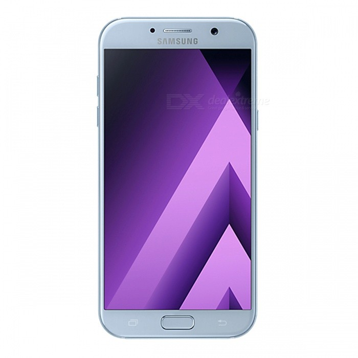Samsung Galaxy A7 (2017) A720F/DS 5.7 Dual SIM Phone, 3+32GB - BlueAndroid Phones<br>Form ColorBlueRAM3GBROM32GBBrandSamsungModelSM-A720F/DSQuantity1 pieceMaterialGlassShade Of ColorBlueTypeBrand NewPower AdapterUK PlugNetwork Type2G,3G,4GBand DetailsGSM: 850/900/1800/1900MHz;  UMTS: 2100/1900/(1700/2100)/850/900MHz;  LTE: 2100/1900/1800/(1700/2100)/850/2600/900/800/700MHz; TD-LTE: 2600/2300/2500MHzData TransferGPRS,HSDPA,LTE,HSUPAWLAN Wi-Fi 802.11 a,b,g,n,ac,Others,dual-band, WiFi Direct, hotspotSIM Card TypeNano SIMSIM Card Quantity2Network StandbyDual Network StandbyGPSYes,A-GPS,BDS,GLONASSNFCYesBluetooth VersionBluetooth V4.2,Others,A2DP, EDR, LEOperating SystemOthers,Google Android 6.0.1 (Marshmallow)CPU ProcessorSamsung Exynos 7 Octa 7880, 2017, 64 bit, Octa-core 18.7GHz, 14 nmCPU Core QuantityOcta-CoreGPUARM Mali-T860 GPULanguageN/AAvailable MemoryN/AMemory CardmicroSDMax. Expansion Supported256GBSize Range5.5 inches &amp; OverTouch Screen TypeCapacitive ScreenScreen Resolution1920*1080Screen Size ( inches)5.7Camera PixelOthers,16MPFront Camera Pixels16 MPVideo Recording Resolution1080p@30fpsFlashYesAuto FocusYesTouch FocusYesOther Camera FunctionsPrimary camera: <br>16 MP, f/1.9, 27mm, autofocus, LED flash; <br>Features: Geo-tagging, touch focus, face detection, panorama, HDR; <br>Secondary camera: 16 MP, f/1.9, 1080pTalk TimeN/A hourStandby TimeN/A hourBattery Capacity3600 mAhBattery ModeNon-removablefeaturesWi-Fi,GPS,FM,Bluetooth,NFCSensorProximity,Compass,Accelerometer,Barometer,Fingerprint authentication sensor,Others,gyro, hall sensor, light sensorWaterproof LevelOthers,- IP68 certified - dust/water proof over 1.5 meter and 30 minutesI/O InterfaceSIM Slot,Others,Type-C 1.0 reversible connectorFormat SupportedMP3, AAC, WMA, AMR, M4A, MP3, OGG, WAV; MP4, 3GP, AVC, AVI, MPEG-4; JPEG, PNG, GIF, BMPJAVANoRadio TunerFMOther FeaturesFront: 2.5D Curved Edge; <br>Back: 3D Curved EdgeReference Websites== Will this mobile phone work with a certain mobile carrier o