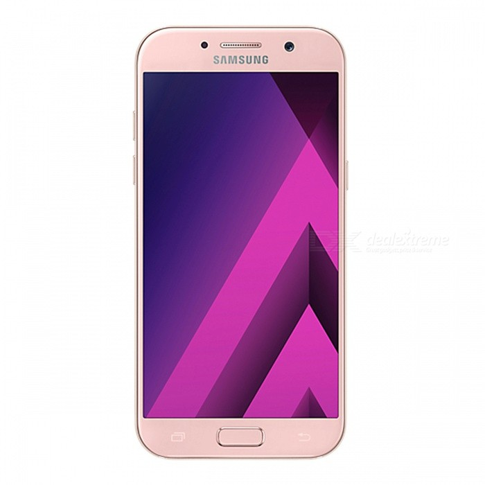Samsung Galaxy A5 (2017) A520F/DS Phone w/ 3GB RAM 32GB ROM - PinkAndroid Phones<br>Form ColorPinkRAM3GBROM32GBBrandSamsungModelA520F/DSQuantity1 setMaterialAluminium alloyShade Of ColorPinkTypeBrand NewPower AdapterUK PlugHousing Case MaterialAluminium alloyTime of Release2017Network Type2G,3G,4GBand DetailsGSM850/900/1800/1900;  UMTS2100 (B1), UMTS1900 (B2), UMTS850 (B5), UMTS900 (B8); LTE2100 (B1),  LTE1800 (B3),  LTE1700/2100 (B4), LTE850 (B5), LTE2600 (B7), LTE900 (B8),  LTE700 (B17), LTE800 (B20), LTE700 (B28), TD-LTE2600 (B38), TD-LTE2300 (B40), TD-LTE2500 (B41)Data TransferGPRS,HSDPA,EDGE,LTE,HSUPAWLAN Wi-Fi 802.11 a,b,g,n,acSIM Card TypeNano SIMSIM Card Quantity2Network StandbyDual Network StandbyGPSYes,A-GPSNFCYesBluetooth VersionBluetooth V4.2Operating SystemOthers,Google Android 6.0.1 (Marshmallow)CPU ProcessorSamsung Exynos 7 Octa 7880, 2017, 64 bit, octa-core, 14 nm, ARM Mali-T860 GPUCPU Core QuantityOcta-CoreGPUARM Mali-T860MP4LanguageNot SpecifyAvailable Memory32GBMemory CardmicroSDSize Range5.0~5.4 inchesTouch Screen TypeAMOLEDScreen Resolution1920*1080MultitouchOthers,YesScreen Size ( inches)Others,5.2Camera PixelOthers,16.0MPFront Camera Pixels16 MPVideo Recording Resolution1920x1080 pixel; 30 fpsFlashYesAuto FocusCD AFTouch FocusYesOther Camera FunctionsEIS, HDR photo, HDR video, Red-eye reduction, Slow motion video,Touch focus, Macro mode,Panorama Photo, Face detection, Face tagging, Smile detection, Face retouchTalk Time17 hoursStandby TimeN/A hourBattery Capacity3000 mAhBattery ModeNon-removablefeaturesWi-Fi,GPS,Bluetooth,NFC,OTGSensorG-sensor,Proximity,Compass,Accelerometer,Barometer,Fingerprint authentication sensor,Others,Hall sensor, Light sensorWaterproof LevelIPX0 (Not Protected)I/O InterfaceUSB Type-c,OTGJAVANoTV TunerNoReference Websites== Will this mobile phone work with a certain mobile carrier of yours? ==Packing List1 x Cell Phone1 x Power Adapter1 x USB Charging Cable1 x User Manual<br>