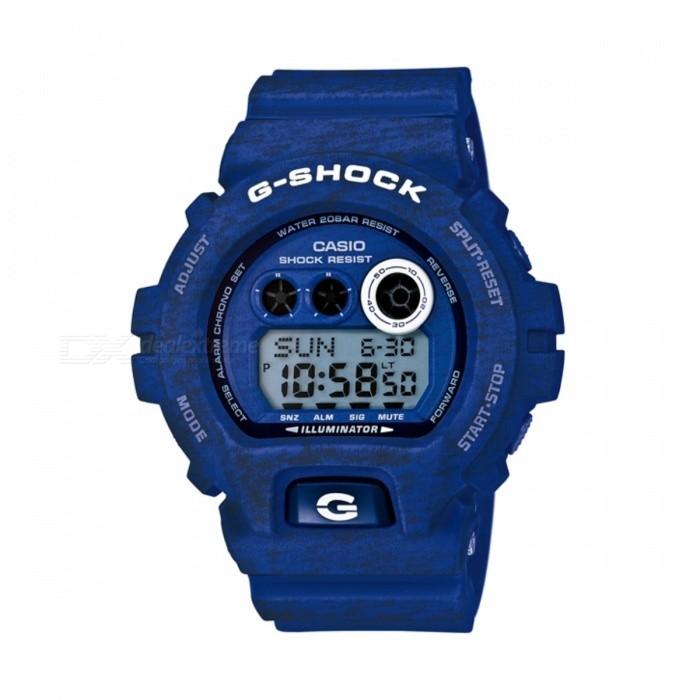 Casio G-Shock GD-X6900HT-2Sport Watches<br>Form  ColorDark BlueModelGD-X6900HT-2Quantity1 DX.PCM.Model.AttributeModel.UnitShade Of ColorBlueCasing MaterialResinWristband MaterialResinSuitable forAdultsGenderUnisexStyleWrist WatchTypeCasual watchesDisplayDigitalMovementQuartzDisplay Format12/24 hour time formatWater ResistantOthers,200 meter water resistanceDial Diameter5.39 DX.PCM.Model.AttributeModel.UnitDial Thickness2.04 DX.PCM.Model.AttributeModel.UnitWristband Length22 DX.PCM.Model.AttributeModel.UnitBand Width2.5 DX.PCM.Model.AttributeModel.UnitBatteryCoin Cell BatteryPacking List1 x GD-X6900HT-2<br>
