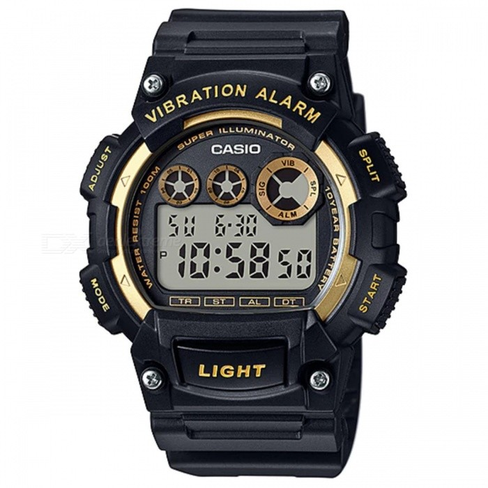 Casio Standard 10-year Battery W-735H-1A2VSport Watches<br>Form  ColorBlackModelW-735H-1A2VQuantity1 DX.PCM.Model.AttributeModel.UnitShade Of ColorBlackCasing MaterialResinWristband MaterialResinSuitable forAdultsGenderUnisexStyleWrist WatchTypeSports watchesDisplayDigitalMovementQuartzDisplay Format12/24 hour time formatWater ResistantWater Resistant 10 ATM or 100 m. Suitable for recreational surfing, swimming, snorkeling, sailing and water sports.Dial Diameter4.71 DX.PCM.Model.AttributeModel.UnitDial Thickness1.61 DX.PCM.Model.AttributeModel.UnitWristband Length22 DX.PCM.Model.AttributeModel.UnitBand Width2.5 DX.PCM.Model.AttributeModel.UnitBatteryCoin Cell BatteryPacking List1 x W-735H-1A2V<br>