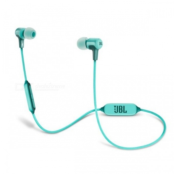 JBL E25BT Wireless Bluetooth In-Ear Headphones - GreenOther Bluetooth Devices<br>Form  ColorGreenModelE25BTMaterialPlasticQuantity1 setShade Of ColorGreenBluetooth VersionOthers,Bluetooth V4.1Operating Range10 metersStandby Time8 hoursPacking List1 x E25BT1 x Charging Cable1 x Warning Card1 x Warranty Card1 x Safety Sheet1 x Carrying Pouch<br>