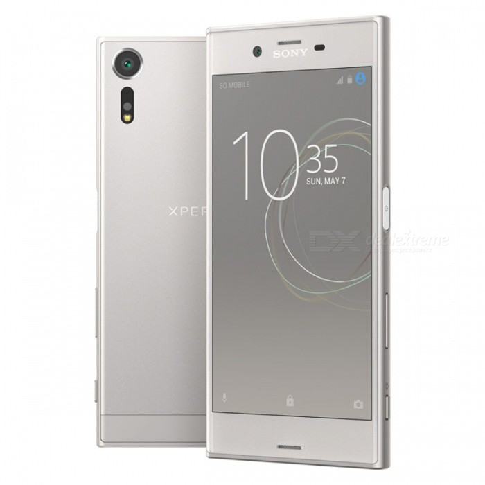 SONY Xperia XZs G8232 Dual 4G 5.2 Phone w/ 4+64GB - SilverAndroid Phones<br>Form  ColorSilverRAM4GBROM64GBBrandSONYModelG8232Quantity1 setMaterialMetal + GlassShade Of ColorSilverTypeBrand NewPower AdapterUK PlugTime of Release2017Network Type2G,3G,4GBand DetailsGSM850/900/1800/1900;  UMTS2100 (B1), UMTS1900 (B2),  UMTS1700/2100 (B4), UMTS850 (B5),  UMTS800 (B6), UMTS900 (B8),  UMTS800 (B19); LTE2100 (B1),  LTE1900 (B2), LTE1800 (B3),  LTE1700/2100 (B4), LTE850 (B5), LTE2600 (B7), LTE900 (B8),   LTE700 (B12),  LTE700 (B13),  LTE700 (B17),  LTE800 (B19), LTE800 (B20),  LTE850 (B26), LTE700 (B28),   LTE700 (B29), LTE1500 (B32), TD-LTE2600 (B38), TD-LTE1900 (B39), TD-LTE2300 (B40), TD-LTE2500 (B41)Data TransferGPRS,HSDPA,EDGE,LTE,HSUPAWLAN Wi-Fi 802.11 a,b,g,n,ac,Others,Wi-Fi Direct, DLNA, MiracastSIM Card TypeNano SIMSIM Card Quantity2Network StandbyDual Network StandbyGPSYes,A-GPSNFCYesBluetooth VersionBluetooth V4.2Operating SystemOthers,Google Android 7.1 (Nougat)CPU ProcessorQualcomm Snapdragon 820 MSM8996, 2015, 64 bit, quad-core, 32 Kbyte I-Cache, 32 Kbyte D-Cache, 1536 Kbyte L2, 14 nm, 2150 MHzCPU Core QuantityQuad-CoreGPUQualcomm Adreno 530LanguageNot SpecifyAvailable Memory64GBMemory CardmicroSDMax. Expansion Supported256GBSize Range5.0~5.4 inchesTouch Screen TypeCapacitive ScreenScreen Resolution1920*1080Multitouch10Screen Size ( inches)Others,5.2Camera PixelOthers,19MPFront Camera Pixels13 MPVideo Recording Resolution4096x2160 pixel, 30 fps; 1920x1080 pixel, 30 fpsFlashYesAuto FocusCD AF, PD AF,  Laser AFTouch FocusYesOther Camera FunctionsEIS, EIS (video), HDR photo, Red-eye reduction, Slow motion video, Touch focus, Macro mode, Panorama Photo, Face detection, Smile detectionTalk Time17 hoursStandby TimeN/A hourBattery Capacity2900 mAhBattery ModeNon-removablefeaturesWi-Fi,GPS,Bluetooth,NFCSensorProximity,Compass,Accelerometer,Gesture,Barometer,Fingerprint authentication sensor,Others,Hall sensor, Light sensor, Step counter, GyroscopeWaterproof LevelOthers