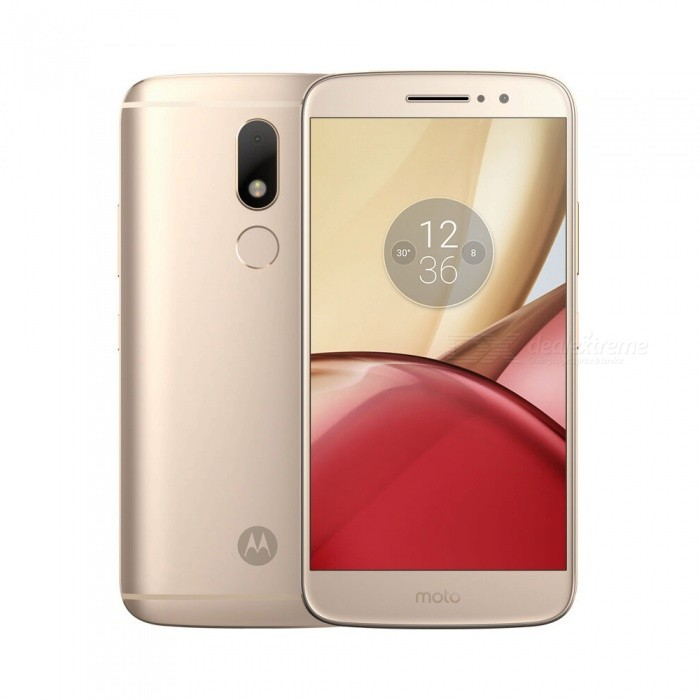 Motorola MOTO M Android 6.0 Smartphone w/ 4GB RAM + 32GB ROM - GoldenAndroid Phones<br>Form  ColorGoldenRAM4GBROM32GBBrandMotorolaModelMOTO MQuantity1 setMaterialMetalShade Of ColorGoldTypeBrand NewPower AdapterUS PlugsHousing Case MaterialMetalNetwork Type2G,3G,4GBand Details4G:FDD-LTE: B1/3/7 , TD-LTE: B38/39/40/41 , 3G:WCDMA: B1/2/5/8 , TD-SCDMA: B34/39 , CDMA EVDO BC0 , 2G:GSM: B2/3/5/8Data TransferGPRS,HSDPA,EDGE,LTEWLAN Wi-Fi 802.11 a,b,g,n,ac,Dual band Wi-Fi (2.4GHz / 5GHz)SIM Card TypeNano SIMSIM Card Quantity2Network StandbyDual Network StandbyGPSYesBluetooth VersionBluetooth V4.1Operating SystemAndroid 6.0CPU ProcessorMediaTek P15 2.2GHzCPU Core QuantityOcta-CoreGPUMali T860mp2LanguageBulgarian,Catalan,Czech,Danish,German,Greek,English,English United States,English United Kingdom,English Indin,English ZG,Spanish,Estonian,Japanese,French,Hindi,Croatian,Hungarian,Indonesian,Italian,Hebrew,Japanese,Lithuanian,Latvian,Malaysian,Burmese,Norwegian,Dutch,Polish,Portuguese,Romanian,Russian,Slovak,Slovenian,Serbian,Swedish,Thai,Turkish,Ukrainian,Uzbek,Vietnamese,Chinese Simplified,Chinese Traditional,Chinese Traditional,Filipino,KoreanAvailable Memory23GBMemory CardMicro SD CardMax. Expansion Supported128GBSize Range5.5 inches &amp; OverTouch Screen TypeIPSScreen Resolution1920*1080Multitouch5Screen Size ( inches)5.5Screen Edge2.5D Curved EdgeCamera PixelOthers,16MPFront Camera Pixels8 MPFlashYesTouch FocusYesTalk Time94 hoursStandby Time374 hoursBattery Capacity3050 mAhBattery ModeNon-removableQuick Charge10WfeaturesWi-Fi,GPS,FM,BluetoothSensorG-sensor,Proximity,Compass,Accelerometer,Fingerprint authentication sensorWaterproof LevelIPX0 (Not Protected)I/O Interface3.5mm,USB Type-cFormat SupportedAAC, AAC+, Enhanced AAC+, AMR-NB, AMR-WB, MIDI, MP3, PCM/WAVE, FLAC, OGG/Vorbis H.263, H.264 AVC, MPEG-4 SP, VP8 JPEG/PNG/GIF/BMPReference Websites== Will this mobile phone work with a certain mobile carrier of yours? ==Packing List1 x Cell phone1 x Data cable1 x Power adapter1 x User manual1 x Warranty manual<br>