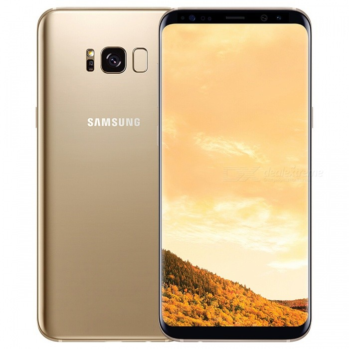 Samsung S8+ G955FD 6.2 inches Phone Dual SIM 4GB RAM 64GB ROM - GoldenAndroid Phones<br>Form  ColorGoldenRAM4GBROM64GBBrandSamsungModelS8+ G955FDQuantity1 setMaterialMetal + GlassShade Of ColorGoldTypeBrand NewPower AdapterUK PlugNetwork Type2G,3G,4GBand DetailsGSM 850 / 900 / 1800 / 1900, UMTS2100 (B1), UMTS1900 (B2), UMTS1700/2100 (B4), UMTS850 (B5), UMTS900   (B8), TD-SCDMA2000, TD-SCDMA1900,  LTE2100 (B1), LTE1900 (B2), LTE1800 (B3), LTE1700/2100 (B4), LTE850   (B5), LTE2600 (B7), LTE900 (B8), LTE700 (B12), LTE700 (B13), LTE700 (B17), LTE800 (B18), LTE800 (B19),    LTE800 (B20), LTE1900 (B25), LTE850 (B26),  LTE700 (B28), TD-LTE2600 (B38), TD-LTE1900 (B39), TD-  LTE2300 (B40), TD-LTE2500 (B41), TD-LTE3500 (B42), LTE1700/2100 (B66)Data TransferGPRS,HSDPA,EDGE,LTE,HSUPAWLAN Wi-Fi 802.11 a,b,g,n,ac,Dual band Wi-Fi (2.4GHz / 5GHz),Others,Wi-Fi Direct, hotspotSIM Card TypeNano SIMSIM Card Quantity2Network StandbyDual Network StandbyGPSYes,A-GPS,BDS,GLONASS,GALILEONFCYesBluetooth VersionOthers,Bluetooth V5.0Operating SystemOthers,Android 7.0CPU ProcessorSamsung (Exynos 9 Octa 8895M) 2017 64 bit octa-core 10nm, 2300MHzCPU Core QuantityOcta-CoreGPUARM Mail-G71LanguageNot specifiedAvailable MemoryN/AMemory CardMicro SDMax. Expansion Supported256GBSize Range5.5 inches &amp; OverTouch Screen TypeSuper AMOLEDScreen Resolution2560*1440MultitouchOthers,YesScreen Size ( inches)Others,6.2 inchesCamera Pixel12.0MPFront Camera Pixels8 MPVideo Recording Resolution4096 x 2160 pixel, 30fpsFlashYesAuto FocusCD AF, PD AFTouch FocusYesOther Camera FunctionsEIS, OIS, HDR photo, HDR video, slow motion video, macro mode, red-eye reduction, burst mode, panorama <br><br>photo, face detection, face tagging, smile detection, face retouch, geo-taggingTalk TimeN/A hourStandby TimeN/A hourBattery Capacity3500 mAhBattery ModeNon-removablefeaturesWi-Fi,GPS,Bluetooth,NFCSensorG-sensor,Proximity,Compass,Accelerometer,Gesture,Heart rate,Barometer,Fingerprint authentication sensor,Others,Hall sensor, Iris scanner, Light sensorWaterproof LevelOthers,IP68I/O Interface3.5mm,USB Type-cJAVANoReference Websites== Will this mobile phone work with a certain mobile carrier of yours? ==Packing List1 x Phone1 x User manual1 x Power adapter1 x Data cable<br>