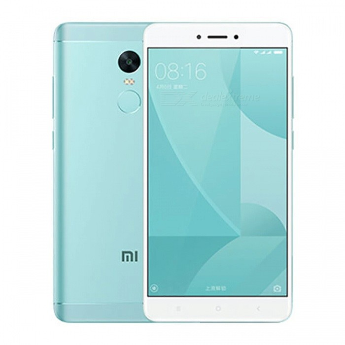 Xiaomi Redmi Note 4X 5.5 Dual SIM Phone with 3GB RAM 32GB ROM - GreenAndroid Phones<br>Form  ColorGreen (CN Version)RAM3GBROM32GBBrandXiaomiModelRedmi Note 4XQuantity1 pieceMaterialMetal + GlassShade Of ColorGreenTypeBrand NewPower AdapterOthers,2-Flat-Pin PlugNetwork Type2G,3G,4GBand DetailsGSM850/900/1800/1900;  UMTS2100 (B1), UMTS1900 (B2), UMTS850 (B5), UMTS900 (B8); CDMA800 (BC0), TD-SCDMA2000,  TD-SCDMA1900; LTE2100 (B1),  LTE1800 (B3), LTE850 (B5), LTE2600 (B7), TD-LTE1900 (B39), TD-LTE2300 (B40), TD-LTE2500 (B41)Data TransferGPRS,HSDPA,EDGE,LTE,HSUPAWLAN Wi-Fi 802.11 a,b,g,n,Others,Wi-Fi Direct, HotspotSIM Card TypeMicro SIM,Nano SIMSIM Card Quantity2Network StandbyDual Network StandbyGPSYes,A-GPS,BDS,GLONASSBluetooth VersionBluetooth V4.1Operating SystemOthers,Google Android 6.0.1 (Marshmallow), MIUIvCPU ProcessorQualcomm Snapdragon 625 MSM8953, 2016, 64 bit, Octa-core 2.0GHz, 14 nmCPU Core QuantityOcta-CoreGPUQualcomm Adreno 506 GPULanguageNot SpecifyAvailable Memory32GBMemory CardMicroSDMax. Expansion Supported256GBSize Range5.5 inches &amp; OverTouch Screen TypeCapacitive ScreenScreen Resolution1920*1080Screen Size ( inches)5.5Screen Edge2.5D Curved EdgeCamera Pixel13.0MPFront Camera Pixels5.0 MPVideo Recording Resolution1080p@30fps, 720p@120fpsFlashYesAuto FocusYesTouch FocusYesOther Camera FunctionsPrimary camera: 13 MP, f/2.0, phase detection autofocus, dual-LED (dual tone) flash; <br>Features: 1.12 µm pixel size, geo-tagging, touch focus, face detection, panorama, HDR; <br>Secondary camera: 5 MP, f/2.0, 1080pTalk Time51 hoursStandby Time264 hoursBattery Capacity4100 mAhBattery ModeNon-removablefeaturesWi-Fi,GPS,FM,Bluetooth,OTGSensorProximity,Compass,Accelerometer,Fingerprint authentication sensor,Others,Gyro, Hall sensor, Light sensorWaterproof LevelIPX0 (Not Protected)I/O InterfaceMicro USB v2.0,OTGFormat SupportedPCM/AAC/AAC+/eAAC+/MP3/AMR-NB/WB/FLAC/APE/ DSD/WAV; H.265/H.264/MPEG4; JPEG/GIFJAVANoRadio TunerFMReference Websites== Will this mobile 