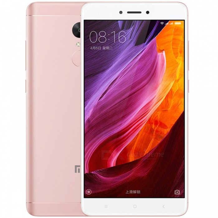 Xiaomi Redmi Note 4X 5.5 Dual SIM Phone with 4GB RAM 64GB ROM - PinkAndroid Phones<br>Form  ColorPink (CMCC Logo) RAM4GBROM64GBBrandXiaomiModelRedmi Note 4XQuantity1 pieceMaterialMetal + GlassShade Of ColorPinkTypeBrand NewPower AdapterOthers,2-Flat-Pin PlugNetwork Type2G,3G,4GBand DetailsGSM850/900/1800/1900;  UMTS2100 (B1), UMTS1900 (B2), UMTS850 (B5), UMTS900 (B8); CDMA800 (BC0), TD-SCDMA2000,  TD-SCDMA1900; LTE2100 (B1),  LTE1800 (B3), LTE850 (B5), LTE2600 (B7), TD-LTE1900 (B39), TD-LTE2300 (B40), TD-LTE2500 (B41)Data TransferGPRS,HSDPA,EDGE,LTE,HSUPAWLAN Wi-Fi 802.11 a,b,g,n,Others,Wi-Fi Direct, HotspotSIM Card TypeMicro SIM,Nano SIMSIM Card Quantity2Network StandbyDual Network StandbyGPSYes,A-GPS,BDS,GLONASSBluetooth VersionBluetooth V4.1Operating SystemOthers,Google Android 6.0.1 (Marshmallow), MIUIvCPU ProcessorMTK Helio X20 Hexa-core 2.1GHzCPU Core QuantityHexa-CoreGPUMali T880 MP4 700MHzLanguageNot SpecifyAvailable Memory64GBMemory CardMicroSDMax. Expansion Supported256GBSize Range5.5 inches &amp; OverTouch Screen TypeCapacitive ScreenScreen Resolution1920*1080Screen Size ( inches)5.5Screen Edge2.5D Curved EdgeCamera Pixel13.0MPFront Camera Pixels5.0 MPVideo Recording Resolution1080p@30fps, 720p@120fpsFlashYesAuto FocusYesTouch FocusYesOther Camera FunctionsPrimary camera: 13 MP, f/2.0, phase detection autofocus, dual-LED (dual tone) flash; <br>Features: 1.12 µm pixel size, geo-tagging, touch focus, face detection, panorama, HDR; <br>Secondary camera: 5 MP, f/2.0, 1080pTalk Time51 hoursStandby Time264 hoursBattery Capacity4100 mAhBattery ModeNon-removablefeaturesWi-Fi,GPS,FM,Bluetooth,OTGSensorProximity,Compass,Accelerometer,Fingerprint authentication sensor,Others,Gyro, Hall sensor, Light sensorWaterproof LevelIPX0 (Not Protected)I/O InterfaceMicro USB v2.0,OTGFormat SupportedPCM/AAC/AAC+/eAAC+/MP3/AMR-NB/WB/FLAC/APE/ DSD/WAV; H.265/H.264/MPEG4; JPEG/GIFJAVANoRadio TunerFMReference Websites== Will this mobile phone work with a certain mobile carrier of yo