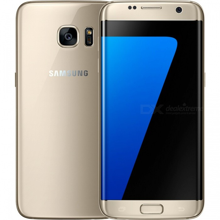Samsung Galaxy S7 Edge G935F Single SIM Phone with 4GB, 32GB - GoldenAndroid Phones<br>Form  ColorGoldenRAM4GBROM32GBBrandSamsungModelS7 Edge G935FQuantity1 setMaterialMetal + GlassShade Of ColorGoldTypeBrand NewPower AdapterEU PlugTime of Release2016Network Type2G,3G,4GBand DetailsGSM850/900/1800/1900; UMTS2100 (B1), UMTS1900 (B2),  UMTS1700/2100 (B4), UMTS850 (B5), UMTS900 (B8); LTE2100 (B1),  LTE1900 (B2), LTE1800 (B3),  LTE1700/2100 (B4), LTE850 (B5), LTE2600 (B7), LTE900 (B8), LTE700 (B12),  LTE700 (B13),  LTE700 (B17),  LTE800 (B18), LTE800 (B19), LTE800 (B20),  LTE1900 (B25), LTE850 (B26), LTE700 (B28), TD-LTE2600 (B38), TD-LTE1900 (B39), TD-LTE2300 (B40), TD-LTE2500 (B41), TD-LTE3500 (B42)Data TransferGPRS,HSDPA,EDGE,LTE,HSUPAWLAN Wi-Fi 802.11 a,b,g,n,ac,Others,DLNA, Wi-Fi Tethering, Wi-Fi DirectSIM Card TypeNano SIMSIM Card Quantity1Network StandbySingle StandbyGPSYes,A-GPSNFCYesBluetooth VersionBluetooth V4.2Operating SystemOthers,Google Android 6.0.1 (Marshmallow)CPU ProcessorSamsung Exynos 8 Octa 8890, 2016, 64 bit, octa-core, 14 nmCPU Core QuantityOcta-CoreGPUARM Mali-T880MP12LanguageNot SpecifyAvailable Memory24.99GBMemory CardmicroSDSize Range5.5 inches &amp; OverTouch Screen TypeYesScreen Resolution2560*1440MultitouchOthers,YesScreen Size ( inches)5.5Camera Pixel12.0MPFront Camera Pixels5.0 MPVideo Recording Resolution3840x2160 pixel, 30 fps;<br>1920x1080 pixel, 30 fpsFlashYesAuto FocusPD AFTouch FocusYesOther Camera FunctionsOIS, HDR photo, HDR video, Red-eye reduction, Slow motion video,Touch focus, Macro mode, Panorama Photo, Face detection, Smile detection, Face retouchTalk Time27 hoursStandby TimeN/A hourBattery Capacity3600 mAhBattery ModeNon-removablefeaturesWi-Fi,GPS,Bluetooth,NFC,OTGSensorProximity,Compass,Accelerometer,Gesture,Heart rate,Barometer,Fingerprint authentication sensor,Others,Hall sensor, Light sensor, 3D GyroscopeWaterproof LevelOthers,8 Protected against immersion beyond 1m of depthDust-proof Level6 Totally protected from dustI/O InterfaceMicro USB,3.5mmJAVANoTV TunerNoReference Websites== Will this mobile phone work with a certain mobile carrier of yours? ==Form  ColorGoldenRAM4GBROM32GBPacking List1 x Cell Phone1 x EU Plug Power Adapter1 x USB Charging Cable1 x User Manual<br>