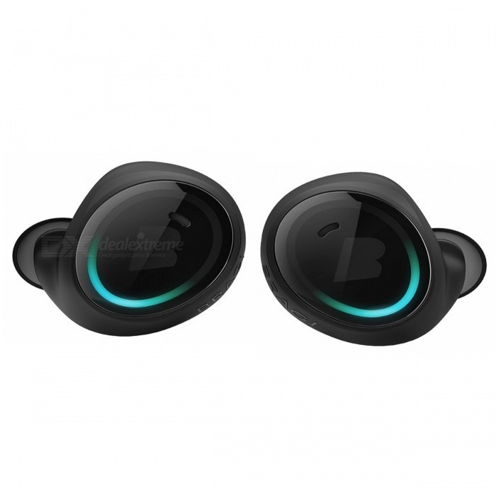Bragi The Dash Pro Bluetooth Earphone - BlackHeadphones<br>Form  ColorBlackBrandOthers,BragiModelThe Dash ProMaterialMetal + PlasticQuantity1 setConnectionBluetoothBluetooth VersionBluetooth V4.0Connects Two Phones SimultaneouslyNoHeadphone StyleIn-EarWaterproof LevelIPX7Applicable ProductsOthers,iOS, AndroidHeadphone FeaturesPhone Control,With Microphone,LightweightSupport Memory CardNoSupport Apt-XYesBattery TypeOthers,Lithium-ion polymer batteryBuilt-in Battery Capacity 100 mAhMusic Play Time5 hoursPacking List1 x The Dash Pro earphone1 x Charger1 x USB cable with micro USB connector<br>