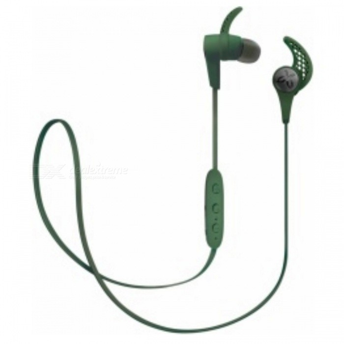 Jaybird X3 Sport Wireless In-Ear Headphone - GreenHeadphones<br>Form  ColorGreenBrandOthers,JaybirdModelX3MaterialPlastic + MetalQuantity1 DX.PCM.Model.AttributeModel.UnitConnectionBluetoothBluetooth VersionBluetooth V4.1Operating Range10 metersConnects Two Phones SimultaneouslyYesCable Length49 DX.PCM.Model.AttributeModel.UnitLeft &amp; Right Cables TypeEqual LengthHeadphone StyleIn-EarWaterproof LevelOthers,Sweat-proofApplicable ProductsOthers,All bluetooth enable devicesHeadphone FeaturesPhone Control,Long Time Standby,Volume Control,With Microphone,For Sports &amp; ExerciseSupport Memory CardNoSupport Apt-XYesBattery TypeOthers,Lithium-polymer rechargeable batteryStandby Time110 DX.PCM.Model.AttributeModel.UnitMusic Play Time8 DX.PCM.Model.AttributeModel.UnitPacking List1 x Earphone3 x Comply isolation foam ear tips: Small size/Medium size/Large size 3 x Silicone ear tips: Small size/Medium size/Large size 3 x Secure-fit ear fins: Small size/Medium size/Large size 1 x Cord management clips1 x Cord shirt clip1 x USB 2.0 charging cable + charge clip1 x Carry pouch<br>