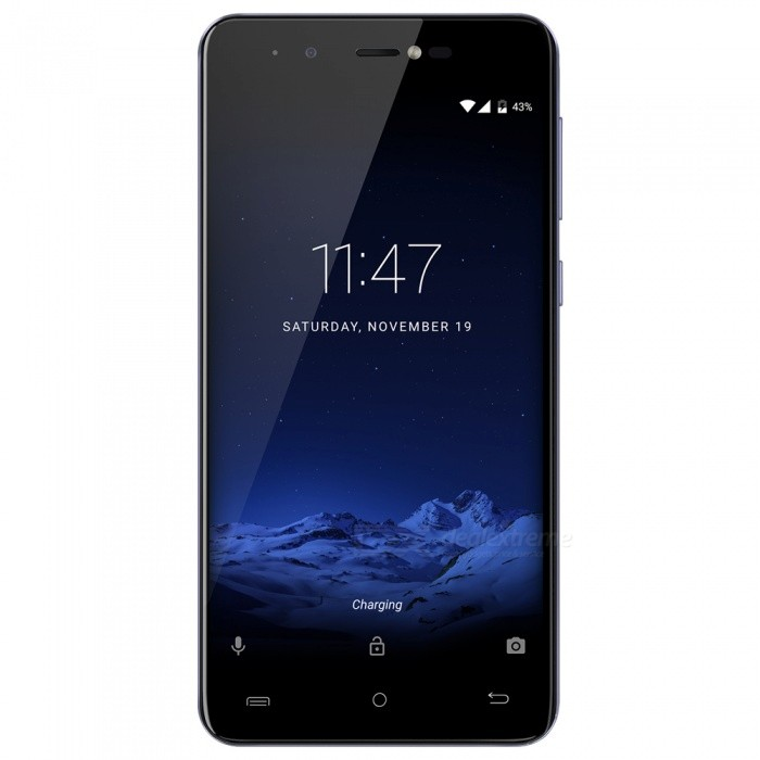 CUBOT R9  Quad-core 3G Phone with 2GB RAM, 16GB ROM - Starry BlueAndroid Phones<br>Form  ColorStarry BlueRAM2GBROM16GBBrandCUBOTModelR9Quantity1 pieceMaterialAlloy frame+metal + PlasticShade Of ColorBlueTypeBrand NewPower AdapterEU PlugHousing Case MaterialPlastic + glassTime of Release2017-6Network Type2G,3GBand DetailsGSM850/900/1800/1900MHz,WCDMA  900/2100MHZData TransferGPRS,HSDPA,EDGEWLAN Wi-Fi 802.11 b,g,nSIM Card TypeMicro SIM,Nano SIMSIM Card Quantity2Network StandbyDual Network StandbyGPSYesBluetooth VersionBluetooth V4.0Operating SystemAndroid 7.xCPU ProcessorMT6580, Quad-core, 1.3GHzCPU Core QuantityQuad-CoreGPUMali-400MPLanguageJapanese, Traditional / simplified Chinese, Indonesian, Malay, Catalan, Czech, Danish, German, English, Spanish, Filipino, French, Italian, Hungarian, Dutch, Polish, Portuguese, Latin, Dave, leah, Finnish, Swedish, Vietnamese, Turkish, Greek, Bulgarian, Russian, Serbian, Ukrainian, Hebrew, Arabic, Hindi, Bengali, and Hindi, Thai, KoreanAvailable Memory10GBMemory CardSupports Micro SD / TF card up to 32GB in size (not included)Max. Expansion Supported32GBSize Range5.0~5.4 inchesTouch Screen TypeIPSScreen Resolution1280*720Multitouch2Screen Size ( inches)5.0Screen Edge2D Curved EdgeCamera Pixel13.0MPFront Camera Pixels5.0 MPFlashYesAuto FocusYesTouch FocusYesOther Camera Functions13MP primary rear camera;<br>Auto focus;<br>4P lens; <br>?/ 2.4 aperture;<br>with 500mA LED flashlightOther Camera Features5MP front camera;<br>50mA soft flash LED;<br>Intelligent beauty;Talk Time200 hoursStandby Time300 minutesBattery Capacity2600 mAhBattery ModeReplacementfeaturesWi-Fi,GPS,FM,BluetoothSensorG-sensor,Proximity,Accelerometer,Fingerprint authentication sensorWaterproof LevelOthers,N/AI/O InterfaceMicro USB,3.5mm,SIM Slot,Micro USB v2.0SoftwarePlay Store, E-mail, Calculator, File manager, Clock, Calendar, Gallery, Video Player, Music, Sound Recorder, BrowserFormat SupportedAVI, MP4, 3GP, MOV, MKV, FLV, FLAC, APE, MP3, OGG, AMR, AAC, JPG, PNG,