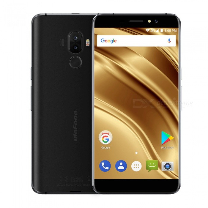 Ulefone S8 Pro  5.3 Android 7.0  4G Phone w/ 2GB RAM 16GB ROM - BlackAndroid Phones<br>Form  ColorBlackRAM2GBROM16GBBrandUlefoneModelS8 ProQuantity1 pieceMaterialMetal frameShade Of ColorBlackTypeBrand NewPower AdapterEU PlugHousing Case MaterialMetal frameTime of Release2017.8.1Network Type2G,3G,4GBand DetailsGSM: 1900/1800/850/900BAND2/3/5/8) WADMA: 2100/850/900(BAND1/5/8)  FDD-LTE: 2100/1800/2600/900/800 (BAND1/3/7/8/20)Data TransferGPRS,HSDPA,EDGE,LTEWLAN Wi-Fi 802.11 b,g,nSIM Card TypeMicro SIMSIM Card Quantity2Network StandbyDual Network StandbyGPSYesNFCNoInfrared PortNoBluetooth VersionBluetooth V4.0Operating SystemAndroid 7.xCPU ProcessorMT6737<br>Quad-core 64-bit 1.3GHzCPU Core QuantityQuad-CoreGPUARM Mali-T720 650MHzLanguageIndonesian, Malay, Catalan, Czech, Danish, German, Estonian, English, Spanish, Filipino, French, Croatian, Italian, Latvian, Lithuanian, Hungarian, Dutch, Norwegian, Polish, Portuguese, Romanian, Slovak, Finnish, Swedish, Vietnamese, Greek, Turkish, Bulgarian, Russian, Serb, Ukrainian, Armenian, Hebrew, Urdu, Arabic, Persian, Hindi, Bengali, Thai, Korean, Burmese, Japanese, Simplified Chinese, Traditional ChineseAvailable Memory10.8GMemory CardTFMax. Expansion Supported128Size Range5.0~5.4 inchesTouch Screen TypeIPSScreen Resolution1280*720Multitouch5Screen Size ( inches)Others,5.3Screen Edge2.5D Curved EdgeCamera Pixel13.0MPFront Camera Pixels5.0 MPFlashYesTouch FocusYesTalk Time6 hourStandby Time120 hourBattery Capacity3000 mAhBattery ModeReplacementQuick ChargeNOfeaturesWi-Fi,GPS,BluetoothSensorG-sensor,Proximity,Fingerprint authentication sensorWaterproof LevelIPX0 (Not Protected)Shock-proofNoI/O Interface3.5mm,Micro USB v2.0Softwaregoogle,chrome,FM,calendar,gmail,play shop.etc.Format SupportedMIDIMP3AAC ARM AWB WAV FLAC,3GPPMPEG-4H.264WMV9VP9TV TunerNoRadio TunerFMWireless ChargingNoOther Features5.3 HD Dual Camera 13MP+5MP /5MP MT6737 Quad-core Metal Body 3000 mAh Battery  Fingerprint+GPS+metal frameReference Websites== Will this 