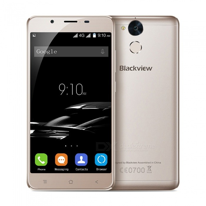 Blackview P2 Android 6.0 Smartphone with 4GB RAM 64GB ROM - GoldAndroid Phones<br>Form  ColorGoldenRAM4GBROM64GBBrandBlackviewModelP2Quantity1 setMaterialMetalShade Of ColorGoldTypeBrand NewPower AdapterEU PlugHousing Case MaterialMetalNetwork Type2G,3G,4GBand Details4G:FDD-LTE:2100/1800/2600/900/800(B1/3/7/8/20) 3G:WCDMA:2100/900(B1/8) 2G:GSM: 850/900/1800/1900(B5/8/3/2)Data TransferGPRS,HSDPA,LTEWLAN Wi-Fi 802.11 b,g,nSIM Card TypeNano SIMSIM Card Quantity2Network StandbyDual Network StandbyGPSYesNFCNoInfrared PortNoBluetooth VersionBluetooth V4.0Operating SystemAndroid 6.0CPU ProcessorMT6750T 1.5GHZCPU Core QuantityOcta-CoreGPUARM Mali-860-MP2LanguageGlobal multinational languageAvailable Memory58GBMemory CardYesMax. Expansion Supported32GBSize Range5.5 inches &amp; OverTouch Screen TypeIPSScreen Resolution1920*1080Multitouch5Screen Size ( inches)5.5Camera Pixel13.0MPFront Camera Pixels8 MPFlashYesAuto FocusYesTouch FocusYesTalk Time20 hourStandby Time500 hourBattery Capacity5500 mAhBattery ModeNon-removableQuick ChargeYesfeaturesWi-Fi,GPS,FM,Bluetooth,OTGSensorG-sensor,Proximity,Compass,Gesture,Fingerprint authentication sensorWaterproof LevelIPX0 (Not Protected)Dust-proof LevelNoShock-proofNoI/O InterfaceUSB Type-cSoftwareFacebook, Twitter, Google browser, Google map, Electric Torch, FM Radio, Email, Music, Clock, G-mail, Play store, Camera, Gallery, Voice Search, Messaging, QQ, WeChatFormat SupportedWAV, AMR, MP3, MID, 3GP, RM, MPEG-4, AVIJAVANoTV TunerNoRadio TunerFMWireless ChargingNoOther Features5.5 HD IPS + Dual Network Standby + Android6.0 + 4GB RAM + 64GB ROM + Wi-Fi + GPS + FM + OTG +  8.0MP Front camera+ 13.0MP Rear camera + 5500mAh battery + Qcta-Core + Bluetooth 4.0Reference Websites== Will this mobile phone work with a certain mobile carrier of yours? ==Packing List1 x Cell phone1 x Data cable1 x Plug Power adapter1 x User manual1 x Warranty manual<br>