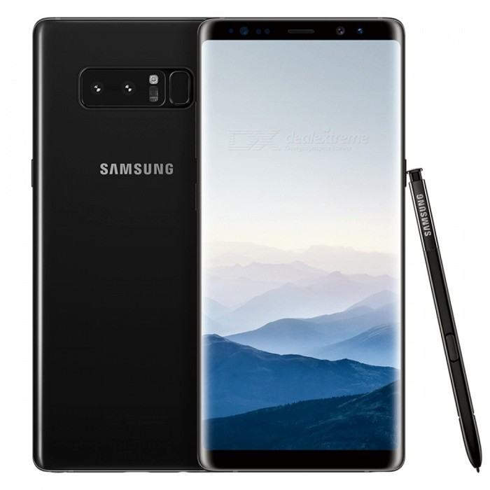 Samsung N9500 Note 8 Dual SIM 6.3 Phone with 6GB RAM, 256GB ROM - Black (HK Ver.)Android Phones<br>Form  ColorBlackRAM6GBROM256GBBrandSamsungModelN9500 Note 8Quantity1 pieceMaterialMetal + GlassShade Of ColorBlackTypeBrand NewPower AdapterUK PlugTime of Release2017Network Type2G,3G,4GBand DetailsGSM850/900/1800/1900;  UMTS2100 (B1), UMTS1900 (B2), UMTS850 (B5), UMTS900 (B8); CDMA800 (BC0), TD-SCDMA2000,  TD-SCDMA1900; LTE2100 (B1), LTE1900 (B2), LTE1800 (B3), LTE1700/2100 (B4), LTE850 (B5), LTE2600 (B7), LTE900 (B8), LTE800 (B18), LTE800 (B20),  LTE1900 (B25),  LTE850 (B26), LTE700 (B28), TD-LTE2600 (B38), TD-LTE1900 (B39), TD-LTE2300 (B40), TD-LTE2500 (B41)Data TransferGPRS,HSDPA,EDGE,LTE,HSUPAWLAN Wi-Fi 802.11 a,b,g,n,ac,Others,DLNA, Wi-Fi Tethering, Wi-Fi DirectSIM Card TypeNano SIMSIM Card Quantity2Network StandbyDual Network StandbyGPSYes,A-GPSNFCYesBluetooth VersionOthers,Bluetooth V5.0Operating SystemOthers,Google Android 7.1.1 (Nougat)CPU ProcessorQualcomm Snapdragon 835 MSM8998, 2017, 64 bit, octa-core, 32 Kbyte I-Cache, 32 Kbyte D-Cache, 2048 Kbyte L2, 10 nmCPU Core QuantityOcta-CoreGPUQualcomm Adreno 540LanguageNot SpecifyAvailable Memory233.7GBSize Range5.5 inches &amp; OverTouch Screen TypeYesScreen ResolutionOthers,1440x2960MultitouchOthers,YesScreen Size ( inches)Others,6.3Camera type3 x CamerasCamera PixelOthers,12MP + 12MPFront Camera Pixels8.0 MPVideo Recording Resolution3840x2160 pixel, 30 fpsFlashYesAuto FocusCD AF; PD AFTouch FocusYesOther Camera FunctionsEIS, EIS (video), OIS, OIS (video), HDR photo, HDR video, Red-eye reduction, Slow motion video,  Burst mode, Touch focus, Macro mode,  Panorama Photo, Face detection, Face tagging, Smile detection, Face retouchTalk Time22 hoursStandby TimeN/A hourBattery Capacity3300 mAhBattery ModeNon-removableQuick ChargeYesfeaturesWi-Fi,GPS,Bluetooth,NFC,OTGSensorProximity,Compass,Accelerometer,Heart rate,Barometer,Fingerprint authentication sensor,Others,Hall sensor, Iris scanner, Light sensor, 3D GyroWater