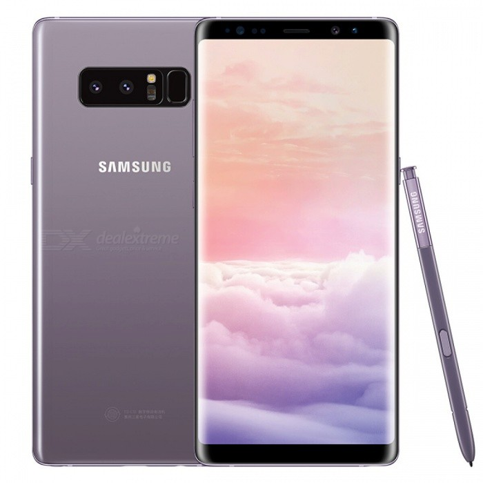 Samsung N9500 Note 8 Dual SIM 6.3 Phone with 6GB RAM, 128GB ROM - Grey (HK Ver.)Android Phones<br>Form  ColorGreyRAM6GBROM128GBBrandSamsungModelN9500 Note 8Quantity1 pieceMaterialMetal + GlassShade Of ColorGrayTypeBrand NewPower AdapterUK PlugTime of Release2017Network Type2G,3G,4GBand DetailsGSM850/900/1800/1900;  UMTS2100 (B1), UMTS1900 (B2), UMTS850 (B5), UMTS900 (B8); CDMA800 (BC0), TD-SCDMA2000,  TD-SCDMA1900; LTE2100 (B1), LTE1900 (B2), LTE1800 (B3), LTE1700/2100 (B4), LTE850 (B5), LTE2600 (B7), LTE900 (B8), LTE800 (B18), LTE800 (B20),  LTE1900 (B25),  LTE850 (B26), LTE700 (B28), TD-LTE2600 (B38), TD-LTE1900 (B39), TD-LTE2300 (B40), TD-LTE2500 (B41)Data TransferGPRS,HSDPA,EDGE,LTE,HSUPAWLAN Wi-Fi 802.11 a,b,g,n,ac,Others,DLNA, Wi-Fi Tethering, Wi-Fi DirectSIM Card TypeNano SIMSIM Card Quantity2Network StandbyDual Network StandbyGPSYes,A-GPSNFCYesBluetooth VersionOthers,Bluetooth V5.0Operating SystemOthers,Google Android 7.1.1 (Nougat)CPU ProcessorQualcomm Snapdragon 835 MSM8998, 2017, 64 bit, octa-core, 32 Kbyte I-Cache, 32 Kbyte D-Cache, 2048 Kbyte L2, 10 nmCPU Core QuantityOcta-CoreGPUQualcomm Adreno 540LanguageNot SpecifyAvailable Memory112.8GBSize Range5.5 inches &amp; OverTouch Screen TypeYesScreen ResolutionOthers,1440x2960MultitouchOthers,YesScreen Size ( inches)Others,6.3Camera type3 x CamerasCamera PixelOthers,12MP + 12MPFront Camera Pixels8.0 MPVideo Recording Resolution3840x2160 pixel, 30 fpsFlashYesAuto FocusCD AF; PD AFTouch FocusYesOther Camera FunctionsEIS, EIS (video), OIS, OIS (video), HDR photo, HDR video, Red-eye reduction, Slow motion video,  Burst mode, Touch focus, Macro mode,  Panorama Photo, Face detection, Face tagging, Smile detection, Face retouchTalk Time22 hoursStandby TimeN/A hourBattery Capacity3300 mAhBattery ModeNon-removableQuick ChargeYesfeaturesWi-Fi,GPS,Bluetooth,NFC,OTGSensorProximity,Compass,Accelerometer,Heart rate,Barometer,Fingerprint authentication sensor,Others,Hall sensor, Iris scanner, Light sensor, 3D GyroWaterpro