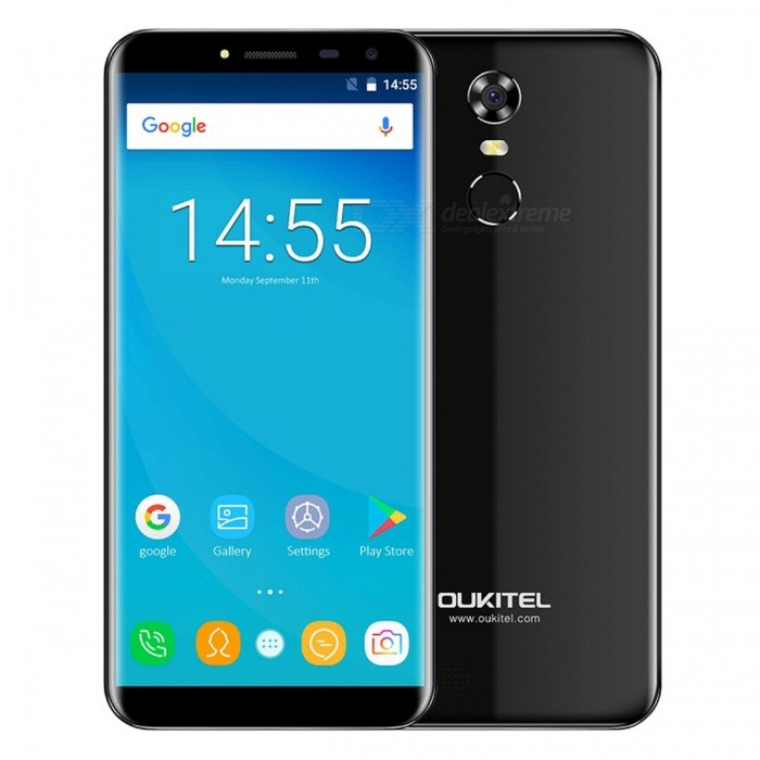 OUKITEL C8 5.5 HD 18:9 Quad-core 3G Phone with 2GB RAM 16GB ROM - BlackAndroid Phones<br>Form  ColorBlackRAM2GBROM16GBBrandOUKITELModelC8Quantity1 pieceMaterialPlastic+Matt LaminationShade Of ColorBlackTypeBrand NewPower AdapterEU PlugHousing Case MaterialPlastic+Matt LaminationNetwork Type2G,3GBand Details2G: GSM 850/900/1800/1900MHz; 3G: WCDMA 900/2100MHz;Data TransferGPRSWLAN Wi-Fi 802.11 b,g,nSIM Card TypeMicro SIM,Nano SIMSIM Card Quantity2Network StandbyDual Network StandbyGPSYesNFCNoInfrared PortNoBluetooth VersionBluetooth V4.0Operating SystemOthers,Android 7.0CPU ProcessorMT6580A 1.3GHzCPU Core QuantityQuad-CoreGPUMali400 MP2LanguageAfrikaans, Indonesian, Malay, Czech, Danish, Germany(German), Germany (Austria), English(United Kingdom), English(United States), Spanish(Espana), Spanish(Estados Unidos), Filipino, French, Croatian, Zulu, Italian, Swahili, Latviesu, Lithuanian, Hungarian, Dutch, Norsk bokmal, Polish, Portuguese(Brasil), Portuguese(Portugal), Romanian, Rumantsch, Slovak, Slovenscina, Finnish, Swedish, Vietnamese, Turkish, Russian, Greek, Hebrew, Arabic, Hindi, Thai, Korean, Simplified Chinese, Traditional ChineseAvailable Memory13.6GBMemory CardMicro SDMax. Expansion Supported32GBSize Range5.5 inches &amp; OverTouch Screen TypeIPSScreen ResolutionOthers,1280*640Multitouch5Screen Size ( inches)5.5Screen Edge2D Curved EdgeCamera type2 x CamerasCamera Pixel13.0MPFront Camera Pixels5.0 MPFlashYesAuto FocusYesTouch FocusYesTalk Time8 hourStandby Time3 daysBattery Capacity3000 mAhBattery ModeReplacementfeaturesWi-Fi,GPS,FM,BluetoothSensorFingerprint authentication sensorWaterproof LevelIPX0 (Not Protected)Shock-proofNoI/O Interface3.5mmSoftwarePlay Store, E-mail, Gmail, Calculator, File manager, Clock, Calendar, Gallery, Video Player, Music, Sound Recorder, FM RadioFormat Supportedmp4 m4v 3gpp wmv mkv aviJAVANoTV TunerNoRadio TunerFMReference Websites== Will this mobile phone work with a certain mobile carrier of yours? ==Packing List1 x Phone1 x EU p