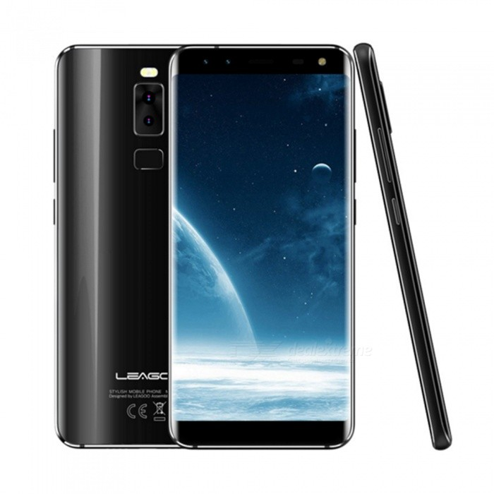 LEAGOO S8 Android 7.0 4G 5.72 FHD Dual SIM Octa-Core Phone w/ 3GB RAM, 32GB ROM - BlackAndroid Phones<br>Form  ColorBlackRAM3GBROM32GBBrandLeagooModelS8Quantity1 pieceMaterialMetalShade Of ColorBlackTypeBrand NewPower AdapterEU PlugHousing Case MaterialMetalNetwork Type2G,3G,4GBand DetailsGSM: 850/900/1800/1900MHz  WCDMA: 850/900/2100MHz  FDD-LTE: Band 1/3/5/7/8/20Data TransferGPRS,HSDPA,LTEWLAN Wi-Fi 802.11 b,g,nSIM Card TypeMicro SIM,Nano SIMSIM Card Quantity2Network StandbyDual Network StandbyGPSYesNFCNoInfrared PortNoBluetooth VersionBluetooth V4.1Operating SystemOthers,Android 7.0CPU ProcessorMT6750T  1.5GHzCPU Core QuantityOcta-CoreGPUMali-T860 MP2LanguageAfrikaans / Indonesian / Malay / Czech / Danish / Germany(German) / Germany (Austria) / English(United Kingdom) / English(United States) / Spanish(Espana) / Spanish(Estados Unidos) / Filipino / French / Croatian / Zulu / Italian / Swahili / Latviesu / Lithuanian / Hungarian / Dutch / Norsk bokmal / Polish / Portuguese(Brasil) / Portuguese(Portugal) / Romanian / Rumantsch / Slovak / Slovenscina / Finnish / Swedish / Vietnamese / Turkish / Russian / Greek / Hebrew / Arabic / Hindi / Thai / Korean / Simplified Chinese / Traditional Chinese.Available Memory30GBMemory CardMicro SIM  Nano SIMMax. Expansion Supported64GBSize Range5.5 inches &amp; OverTouch Screen TypeIPSScreen ResolutionOthers,1440*720Screen Size ( inches)Others,5.72Camera type4 x CamerasCamera PixelOthers,Front: 8MP+2MP  &amp; Rear: 13MP+2MPFront Camera Pixels8.0 MPFlashYesTalk Time30 hoursStandby Time72 hoursBattery Capacity2940 mAhBattery ModeNon-removablefeaturesWi-Fi,GPS,FM,BluetoothSensorG-sensorWaterproof LevelIPX0 (Not Protected)Dust-proof LevelNoShock-proofNoI/O InterfaceUSB Type-cSoftwareFacebook, Twitter, Google browser, Google map, Electric Torch, FM RadioFormat SupportedWAV, AMR, MP3, MID, 3GP, RM, MPEG-4, AVIJAVANoTV TunerNoRadio TunerFMWireless ChargingNoOther Features5.72 HD IPS + Dual Network Standby + Android7.0 + 3GB RAM + 32GB RO