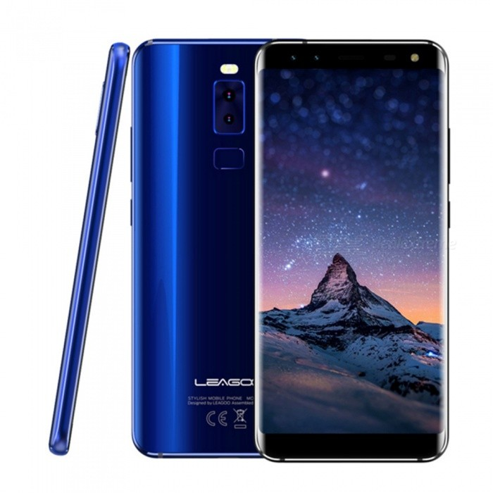 LEAGOO S8 Android 7.0 4G 5.72 FHD Dual SIM Octa-Core Phone w/ 3GB RAM, 32GB ROM - BlueAndroid Phones<br>Form  ColorBlueRAM3GBROM32GBBrandLeagooModelS8Quantity1 pieceMaterialMetalShade Of ColorBlueTypeBrand NewPower AdapterEU PlugHousing Case MaterialMetalNetwork Type2G,3G,4GBand DetailsGSM: 850/900/1800/1900MHz  WCDMA: 850/900/2100MHz  FDD-LTE: Band 1/3/5/7/8/20Data TransferGPRS,HSDPA,LTEWLAN Wi-Fi 802.11 b,g,nSIM Card TypeMicro SIM,Nano SIMSIM Card Quantity2Network StandbyDual Network StandbyGPSYesNFCNoInfrared PortNoBluetooth VersionBluetooth V4.1Operating SystemOthers,Android 7.0CPU ProcessorMT6750T  1.5GHzCPU Core QuantityOcta-CoreGPUMali-T860 MP2LanguageAfrikaans / Indonesian / Malay / Czech / Danish / Germany(German) / Germany (Austria) / English(United Kingdom) / English(United States) / Spanish(Espana) / Spanish(Estados Unidos) / Filipino / French / Croatian / Zulu / Italian / Swahili / Latviesu / Lithuanian / Hungarian / Dutch / Norsk bokmal / Polish / Portuguese(Brasil) / Portuguese(Portugal) / Romanian / Rumantsch / Slovak / Slovenscina / Finnish / Swedish / Vietnamese / Turkish / Russian / Greek / Hebrew / Arabic / Hindi / Thai / Korean / Simplified Chinese / Traditional Chinese.Available Memory30GBMemory CardMicro SIM  Nano SIMMax. Expansion Supported64GBSize Range5.5 inches &amp; OverTouch Screen TypeIPSScreen ResolutionOthers,1440*720Screen Size ( inches)Others,5.72Camera type4 x CamerasCamera PixelOthers,Front: 8MP+2MP  &amp; Rear: 13MP+2MPFront Camera Pixels8.0 MPFlashYesTalk Time30 hoursStandby Time72 hoursBattery Capacity2940 mAhBattery ModeNon-removablefeaturesWi-Fi,GPS,FM,BluetoothSensorG-sensorWaterproof LevelIPX0 (Not Protected)Dust-proof LevelNoShock-proofNoI/O InterfaceUSB Type-cSoftwareFacebook, Twitter, Google browser, Google map, Electric Torch, FM RadioFormat SupportedWAV, AMR, MP3, MID, 3GP, RM, MPEG-4, AVIJAVANoTV TunerNoRadio TunerFMWireless ChargingNoOther Features5.72 HD IPS + Dual Network Standby + Android7.0 + 3GB RAM + 32GB ROM + Wi-Fi + GPS + FM  +  8.0MP Front camera+ 13.0MP Rear camera + 2940mAh battery + Octa-Core + Bluetooth 4.1Reference Websites== Will this mobile phone work with a certain mobile carrier of yours? ==Packing List1 x Cell phone1 x Data cable1 x EU Plug Power adapter1 x User manual1 x Warranty manual<br>