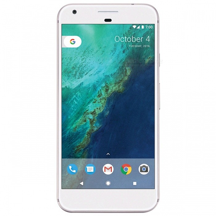 Google Pixel G-2PW4200 Quad-core Single SIM 5.0 Phone with 4GB RAM, 128GB ROM - Silver (UK Plug)Android Phones<br>Form  ColorSilverRAM4GBROM128GBBrandOthers,GoogleModelPixel G-2PW4200Quantity1 setMaterialAluminium alloyShade Of ColorSilverTypeBrand NewPower AdapterUK PlugTime of Release2016Network Type2G,3G,4GBand DetailsGSM850/900/1800/1900; UMTS2100 (B1), UMTS1900 (B2), UMTS1700/2100 (B4), UMTS850 (B5),  UMTS800 (B6), UMTS900 (B8), UMTS1700/1800 (B9), UMTS800 (B19); TD-SCDMA2000, TD-SCDMA1900; LTE2100 (B1),  LTE1900 (B2), LTE1800 (B3),  LTE1700/2100 (B4), LTE850 (B5), LTE2600 (B7), LTE700 (B12),  LTE700 (B13),  LTE700 (B17), LTE800 (B18), LTE800 (B19), LTE800 (B20), LTE1500 (B21), LTE850 (B26), LTE700 (B28); TD-LTE2600 (B38), TD-LTE1900 (B39), TD-LTE2300 (B40), TD-LTE2500 (B41);Data TransferGPRS,HSDPA,EDGE,LTE,HSUPAWLAN Wi-Fi 802.11 a,b,g,n,ac,Others,DLNA, Wi-Fi Tethering, Miracast, Wi-Fi DirectSIM Card TypeNano SIMSIM Card Quantity1GPSYes,A-GPSNFCYesBluetooth VersionBluetooth V4.2Operating SystemOthers,Google Android 7.1 (Nougat)CPU ProcessorQualcomm Snapdragon 821 MSM8996AB Pro, 2016, 64 bit, quad-core, 32 Kbyte I-Cache, 32 Kbyte D-Cache, 1536 Kbyte L2, 14 nmCPU Core QuantityQuad-CoreGPUQualcomm Adreno 530LanguageNot SpecifyAvailable Memory114GBSize Range5.0~5.4 inchesTouch Screen TypeYesScreen Resolution1920*1080MultitouchOthers,YesScreen Size ( inches)5.0Camera type2 x CamerasCamera Pixel12.0MPFront Camera Pixels8.0 MPVideo Recording Resolution3840x2160 pixel, 30 fps; 2592x1944 pixel, 30 fpsFlashYesAuto FocusPD AF; Laser AFTouch FocusYesOther Camera FunctionsEIS, EIS (video), HDR photo, HDR video, Macro mode, Face detection, Smile detectionTalk TimeN/A hourStandby TimeN/A hourBattery Capacity2770 mAhBattery ModeNon-removablefeaturesWi-Fi,GPS,Bluetooth,NFC,OTGSensorProximity,Compass,Accelerometer,Barometer,Fingerprint authentication sensor,Others,Hall sensor, Light sensor, GyroscopeWaterproof LevelOthers,3 Protection against direct sprays up to 60 degrees from the verticalDust-proof Level5 Protected against dust with limited ingressI/O Interface3.5mm,USB Type-cReference Websites== Will this mobile phone work with a certain mobile carrier of yours? ==Packing List1 x Cell Phone1 x UK Plug Power Adapter1 x USB Charging Cable1 x User Manual<br>
