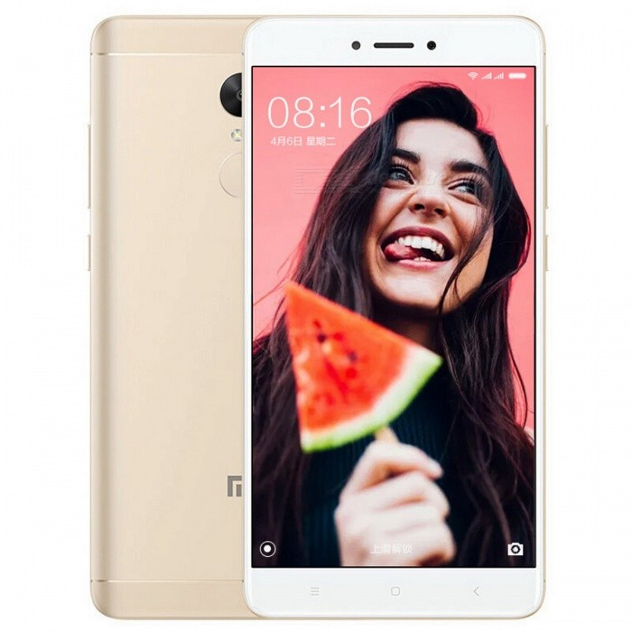Xiaomi Redmi Note 4X Mobile Phone with 3GB RAM 16GB ROM - GoldAndroid Phones<br>ColorGoldBrandXiaomiModelRedmi Note 4XQuantity1 setMaterialMetal BodyShade Of ColorGoldTypeBrand NewPower AdapterOthers,N/AHousing Case MaterialMetalTime of Release2017-2Network Type2G,3G,4GBand Details2G bands: GSM 850 / 900 / 1800 / 1900 - SIM 1 &amp; SIM 2; CDMA 800 &amp; TD-SCDMA;  3G bands: HSDPA 850 / 900 / 1900 / 2100;  4G bands: LTE band 1(2100), 3(1800), 5(850), 7(2600), 38(2600), 39(1900), 40(2300), 41(2500) - Snapdragon model, LTE band 1(2100), 3(1800), 5(850), 7(2600), 8(900), 38(2600), 39(1900), 40(2300), 41(2500) - Mediatek modelData TransferGPRS,EDGE,LTEWLAN Wi-Fi 802.11 a,b,g,nSIM Card TypeMicro SIM,Nano SIMSIM Card Quantity2Network StandbyDual Network StandbyGPSYes,A-GPSNFCNoBluetooth VersionBluetooth V4.2Operating SystemAndroid 6.0CPU ProcessorOcta-core 2.0 GHz Cortex-A53CPU Core QuantityOcta-CoreGPUAdreno 506Language-Available Memory16GB ROMMemory CardmicroSDMax. Expansion Supportedup to 256 GB (uses SIM 2 slot)Size Range5.5 inches &amp; OverTouch Screen TypeYesScreen Resolution1920*1080MultitouchOthers,YesScreen Size ( inches)5.5Camera type2 x CamerasCamera Pixel13.0MPFront Camera Pixels5.0 MPFlashYesTalk Time- hourStandby Time- hourBattery Capacity4100 mAhfeaturesWi-Fi,GPS,BluetoothSensorProximity,Compass,Accelerometer,Fingerprint authentication sensor,Others,GyroWaterproof LevelIPX0 (Not Protected)I/O InterfaceMicro USB,3.5mmReference Websites== Will this mobile phone work with a certain mobile carrier of yours? ==Packing List1 x Cell Phone1 x Power Adapter1 x USB Cable1 x User Manual<br>