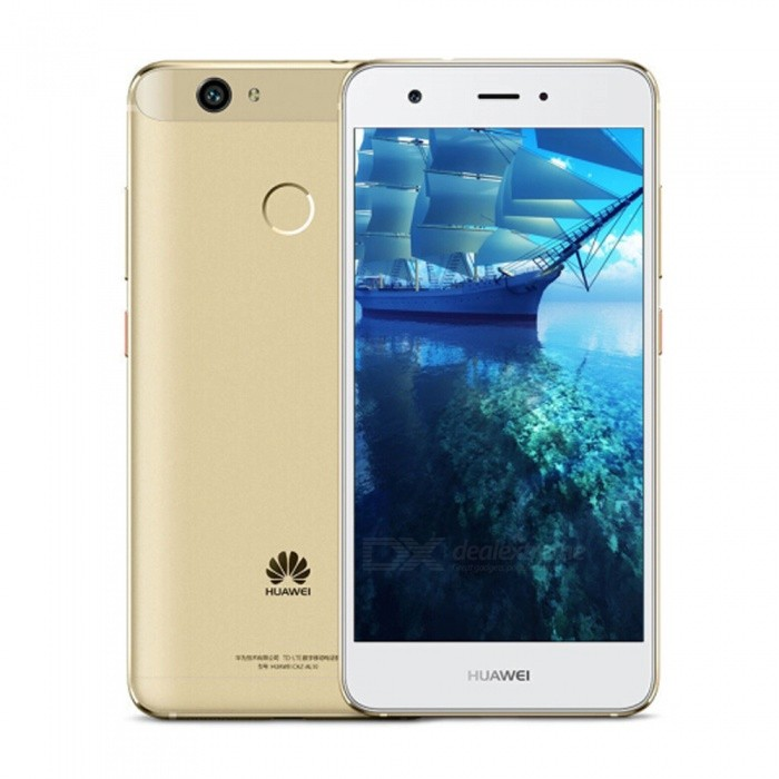 Huawei Nova Android Dual SIM Octa-Core 4G 5.0 Phone w/ 4GB RAM, 64GB ROM - GoldenAndroid Phones<br>ColorGoldenRAM4GBROM64GBBrandHUAWEIModelNovaQuantity1 setMaterialMetalShade Of ColorGoldTypeBrand NewPower AdapterUS PlugHousing Case MaterialMetalNetwork Type2G,3G,4GBand Details2G: GSM: B2/B3/B5/B8     3G: WCDMA: B1/B2/B5/B8     TD-SCDMA: B34/B39        4G: TD-LTE:B38/39/B40/B41   LTE-FDD: B1/B3/B7Data TransferGPRSWLAN OthersSIM Card TypeNano SIMSIM Card Quantity2Network StandbyDual Network StandbyGPSYesNFCNoInfrared PortNoBluetooth VersionOthersOperating SystemOthers,AndroidCPU ProcessorMSM8953 2.0GHzCPU Core QuantityOcta-CoreGPUSnapdragonLanguageRussian,German,Spanish,Polish,Turkish,English,NAvailable Memory58GBSize Range5.0~5.4 inchesTouch Screen TypeCapacitive ScreenScreen Resolution1920*1080Screen Size ( inches)5.0Camera type2 x CamerasCamera Pixel12.0MPFront Camera Pixels8.0 MPFlashNoTalk Time22 hoursStandby Time50 hoursBattery Capacity3020 mAhBattery ModeNon-removablefeaturesWi-Fi,GPS,FM,BluetoothSensorG-sensorWaterproof LevelIPX0 (Not Protected)Dust-proof LevelNoShock-proofNoI/O Interface3.5mmSoftwareFacebook, Twitter, Google browser, Google mapFormat SupportedWAV, AMR, MP3, MID, 3GP, RM, MPEG-4JAVANoTV TunerNoRadio TunerFMWireless ChargingNoOther Features5.0  IPS + Dual Network Standby + Android + 4GB RAM + 64GB ROM + Wi-Fi + GPS + FM  +  8.0MP Front camera+ 12.0MP Rear camera + 3020mAh battery + Octa-CoreReference Websites== Will this mobile phone work with a certain mobile carrier of yours? ==Packing List1 x Cell phone1 x US Plug Power adapter1 x User manual1 x Warranty manual<br>