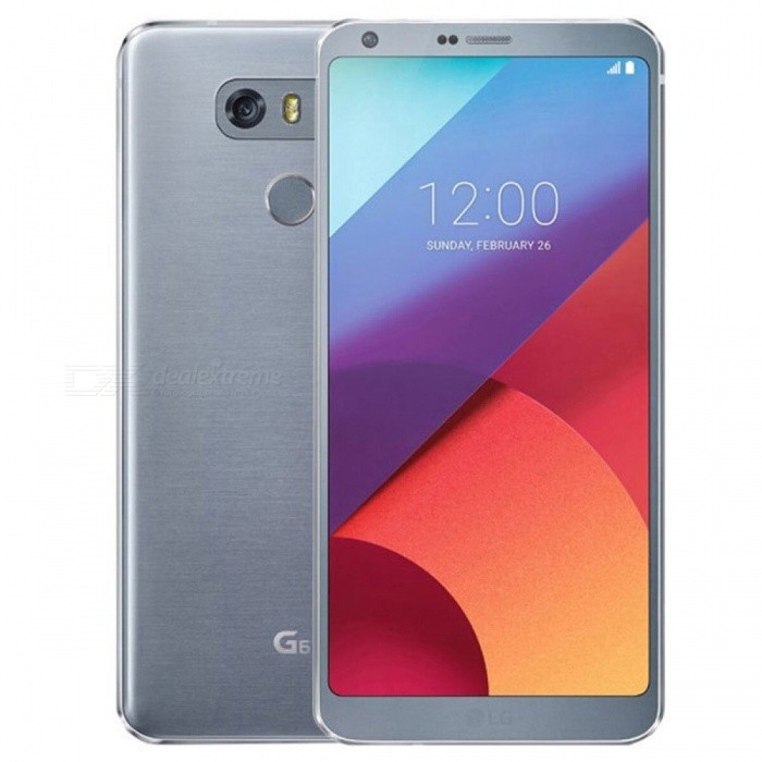 LG G6 H870 Android 7.0 5.7 Dual SIM 4G Phone w/ 4GB RAM + 64GB ROM - BlueAndroid Phones<br>Form  ColorBlueRAM4GBROM64GBBrandLGModelG6Quantity1 setMaterialAluminium alloyShade Of ColorBlueTypeBrand NewPower AdapterOthers,KR PlugTime of Release2017Network Type2G,3G,4GBand DetailsGSM850/900/1800/1900;  UMTS2100 (B1), UMTS850 (B5), LTE2100 (B1), LTE1800 (B3), LTE850 (B5), LTE700 (B17), TD-LTE2600 (B38), TD-LTE2300 (B40)Data TransferGPRS,HSDPA,EDGE,LTE,HSUPAWLAN Wi-Fi 802.11 a,b,g,n,acSIM Card TypeNano SIMSIM Card Quantity2Network StandbyDual Network StandbyGPSYes,A-GPSNFCYesBluetooth VersionOthers,Bluetooth 5.0Operating SystemOthers,Google Android 7.0 (Nougat)CPU ProcessorQualcomm Snapdragon 821 MSM8996AC Pro, 2016, 64 bit, quad-core, 32 Kbyte I-Cache, 32 Kbyte D-Cache, 1536 Kbyte L2, 14 nmCPU Core QuantityQuad-CoreGPUQualcomm Adreno 530LanguageNot SpecifyAvailable Memory64GBMemory CardMicroSD (TF)Size Range5.5 inches &amp; OverTouch Screen TypeYesScreen ResolutionOthers,1440x2880Multitouch10Screen Size ( inches)5.7Camera Pixel13.0MPFront Camera Pixels5.0 MPVideo Recording Resolution3840x2160 pixel, 30 fps; 1920x1080 pixel, 30 fpsFlashYesAuto FocusCD AF; PD AF; Laser AFTouch FocusYesOther Camera FunctionsEIS (video), OIS, HDR photo, HDR video, Red-eye reduction, Slow motion video, Touch focus, Macro mode, Panorama Photo, Face detection, Face tagging, Smile detection, Face retouchTalk TimeN/A hourStandby TimeN/A hourBattery Capacity3300 mAhBattery ModeNon-removablefeaturesWi-Fi,GPS,Bluetooth,NFC,OTGSensorProximity,Compass,Accelerometer,Fingerprint authentication sensor,Others,Hall sensor, Light sensor, GyroscopeWaterproof LevelOthers,IP68 certified - dust/water proof over 1.5 meter and 30 minutesI/O InterfaceUSB Type-c,OTGJAVANoTV TunerNoReference Websites== Will this mobile phone work with a certain mobile carrier of yours? ==Packing List1 x Cell Phone1 x Power Adapter1 x USB Charging Cable1 x User Manual<br>