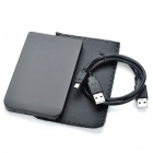 "USB 2.0 2.5 ""SATA HDD Enclosure - Negro"