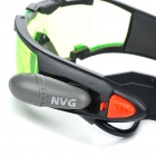 Simulative Night Vision Goggles Toy with Blue Lights - Green + Black