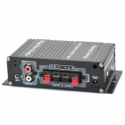 100W Hi-Fi Stereo Amplifier MP3 Player for Car/Motorcycle - Black