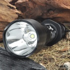 UltraFire A9-T60 3-Mode 910-Lumen White LED Flashlight with Strap - Black (1 x 18650)