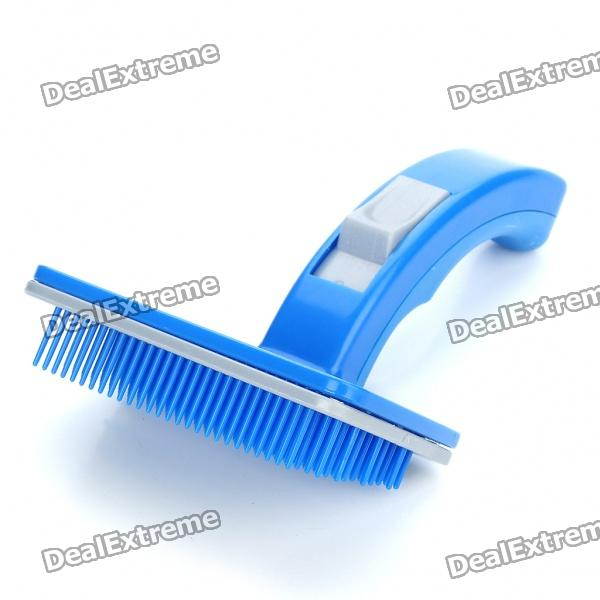 Buy Plastic Pet Dog Deshedding Tool with Litecoins with Free Shipping on Gipsybee.com
